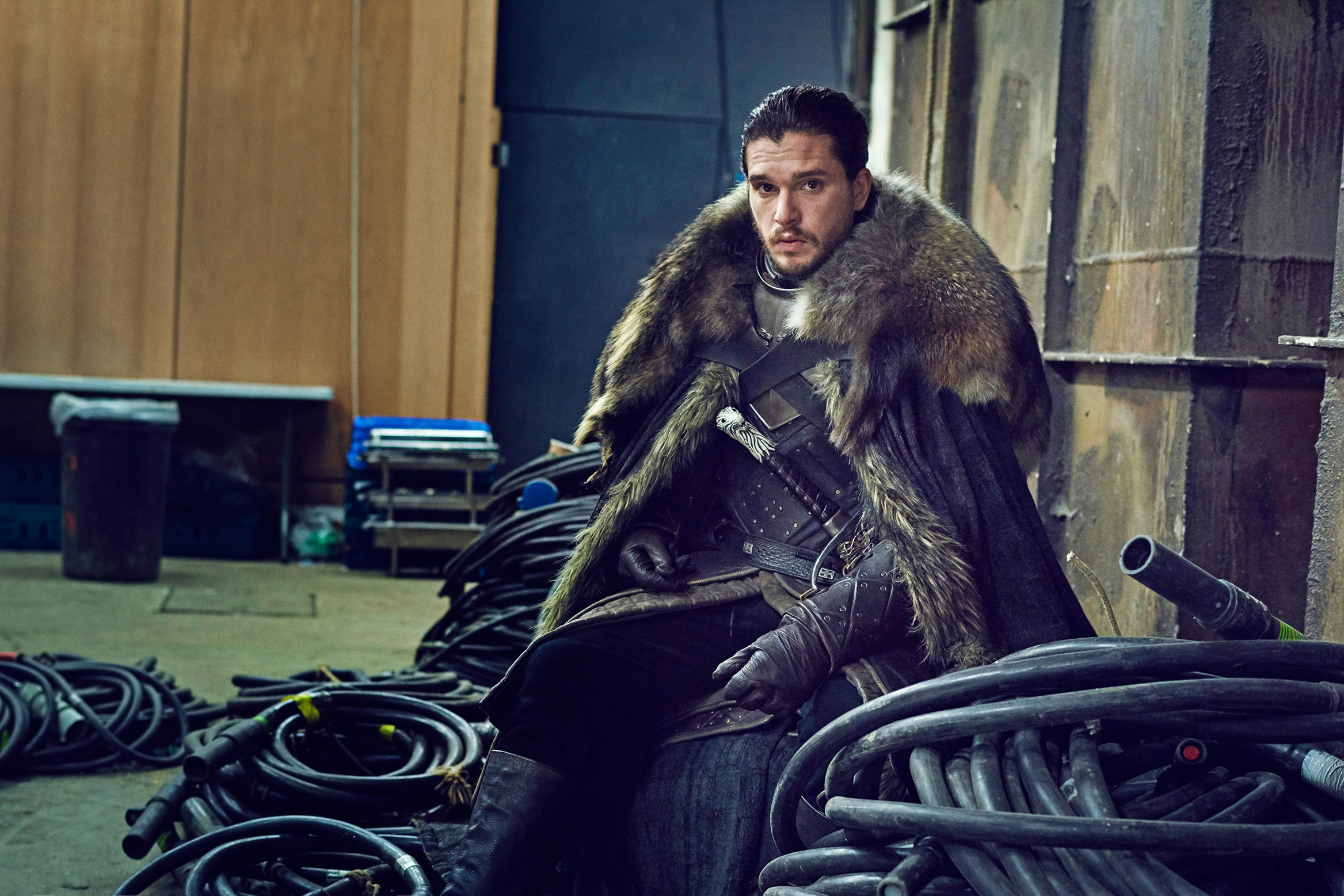 Jon Snow Game Of Thrones Set Photo, HD Tv Shows, 4k