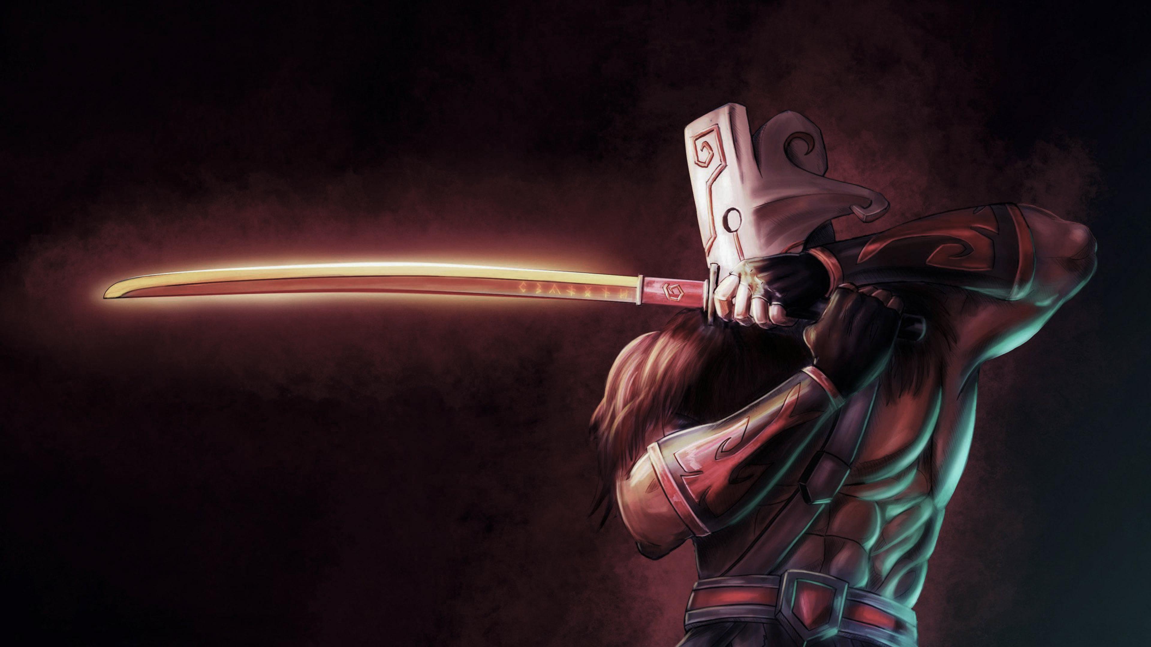 Juggernaut Dota 2 Hd Games 4k Wallpapers Images Backgrounds