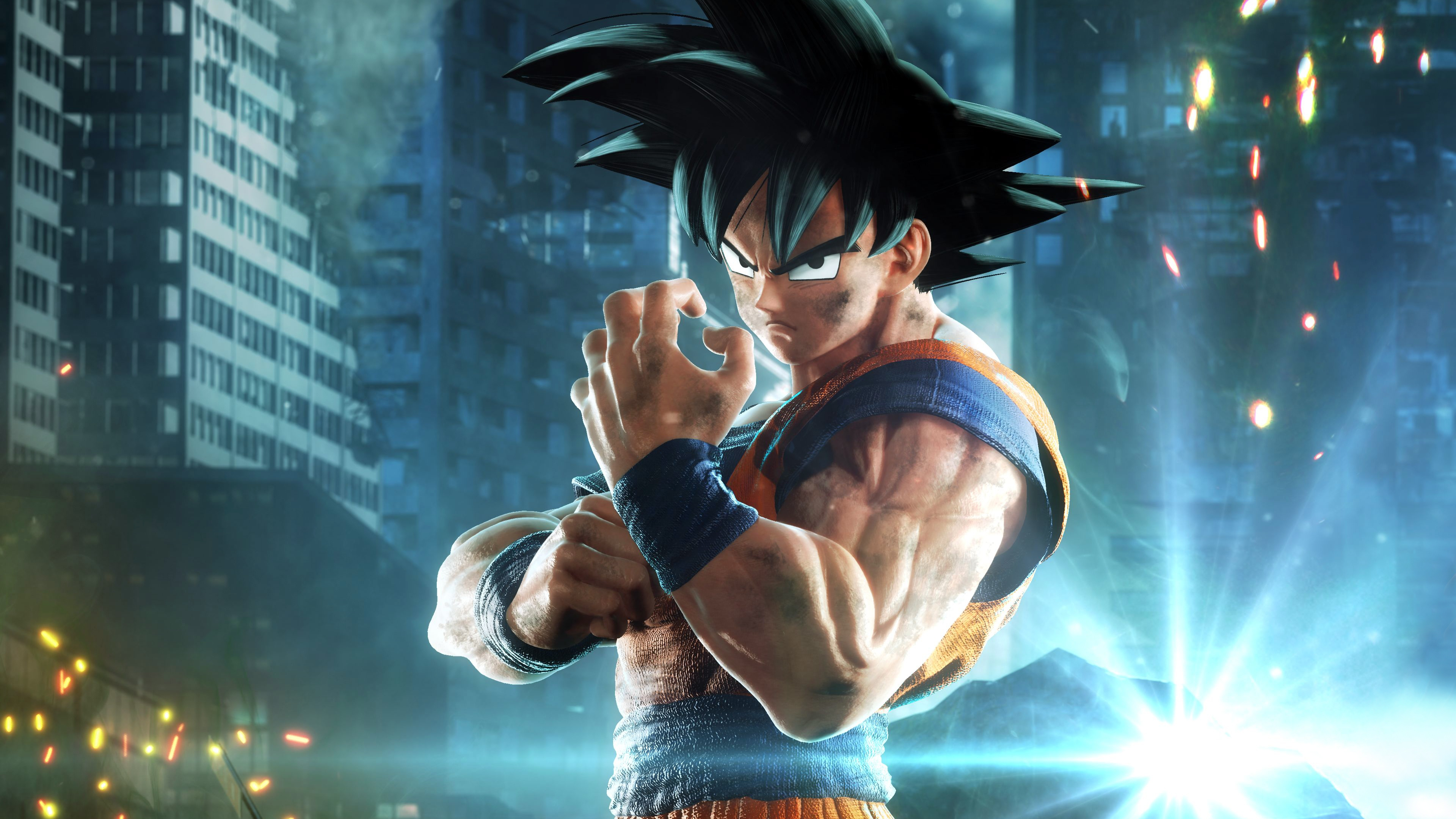 Jump Force Goku 4k Hd Games 4k Wallpapers Images