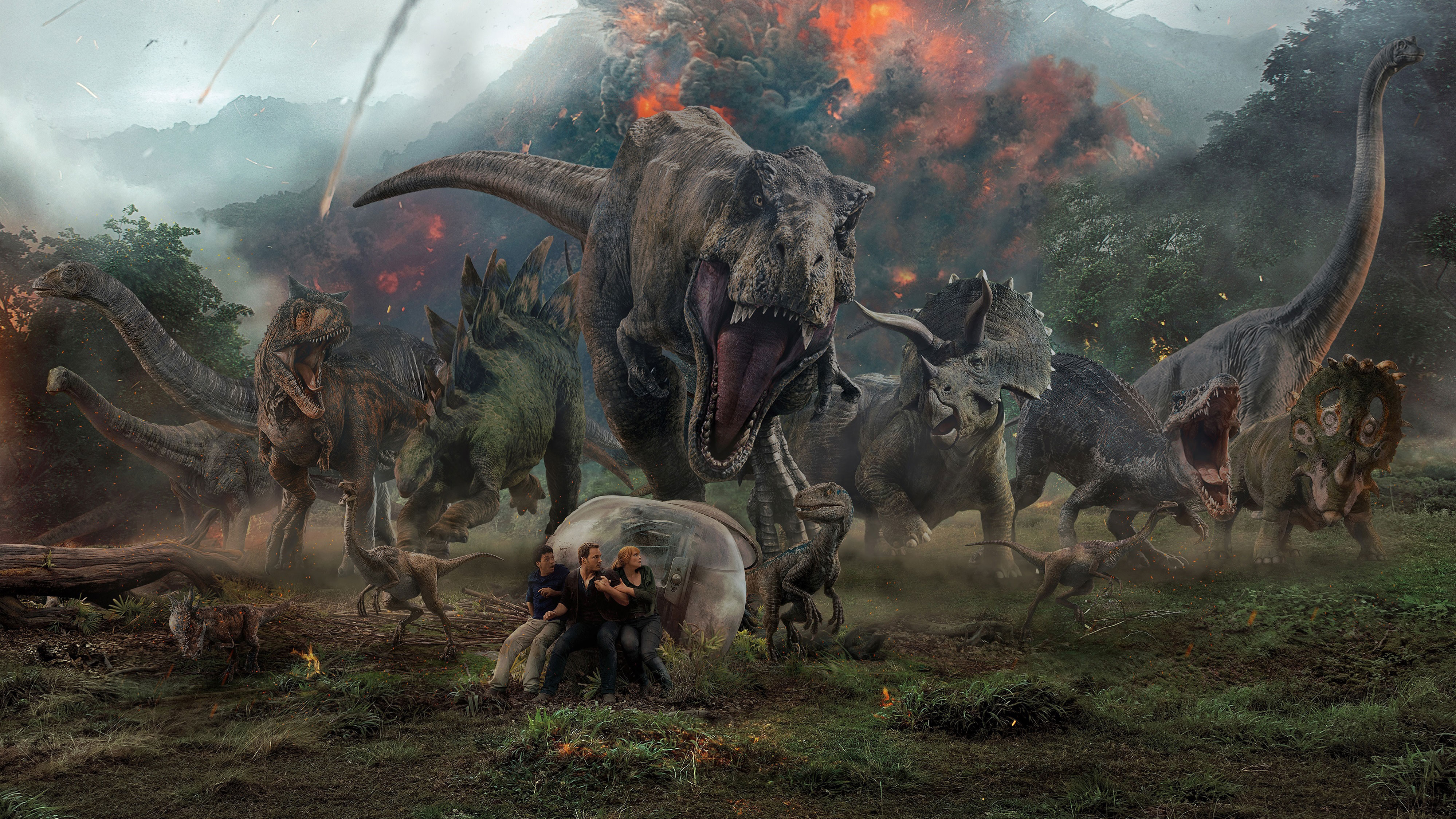 Jurassic World Fallen Kingdom Key Art