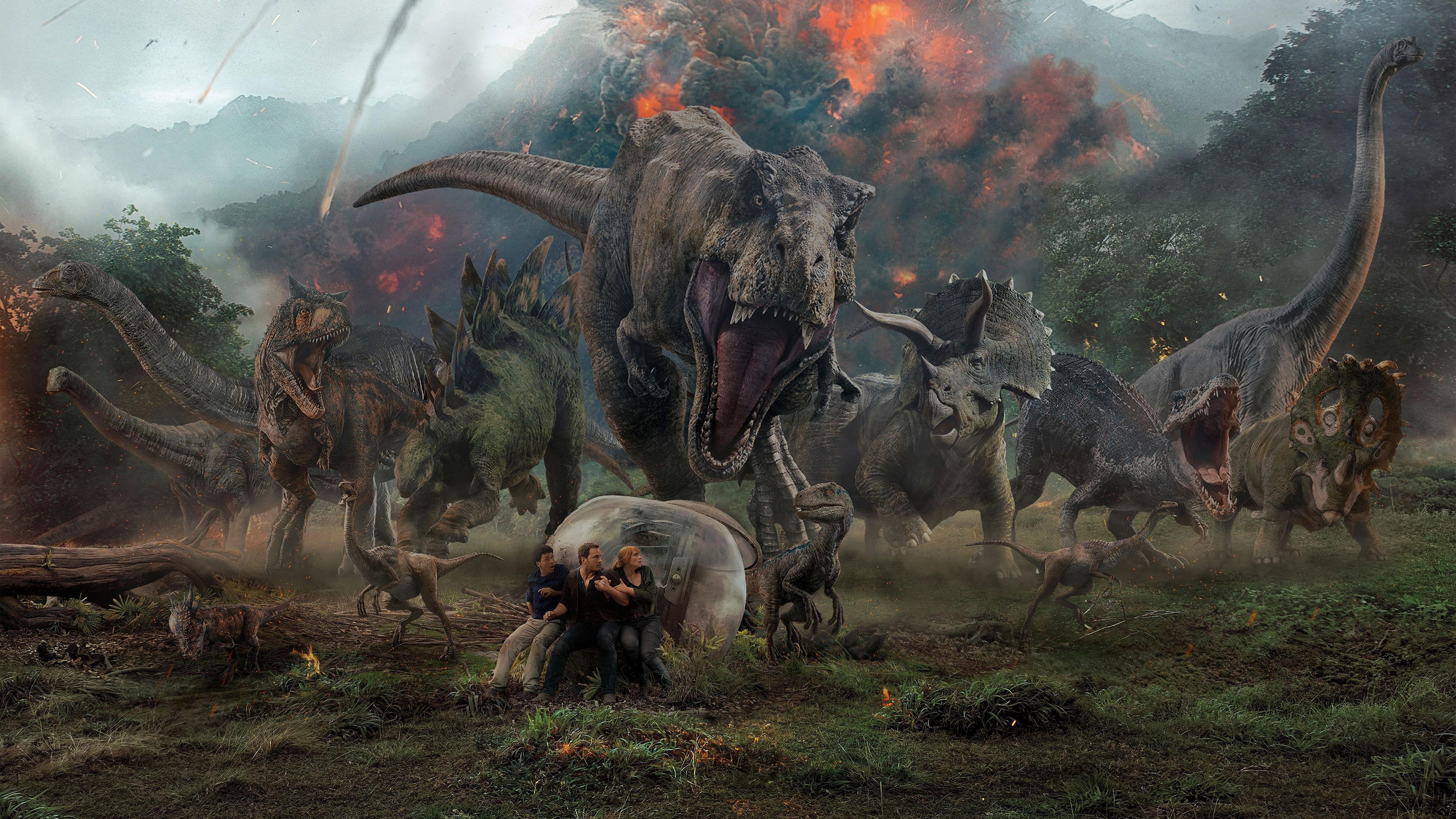 Jurassic World Fallen Kingdom Key Art, HD Movies, 4k ...