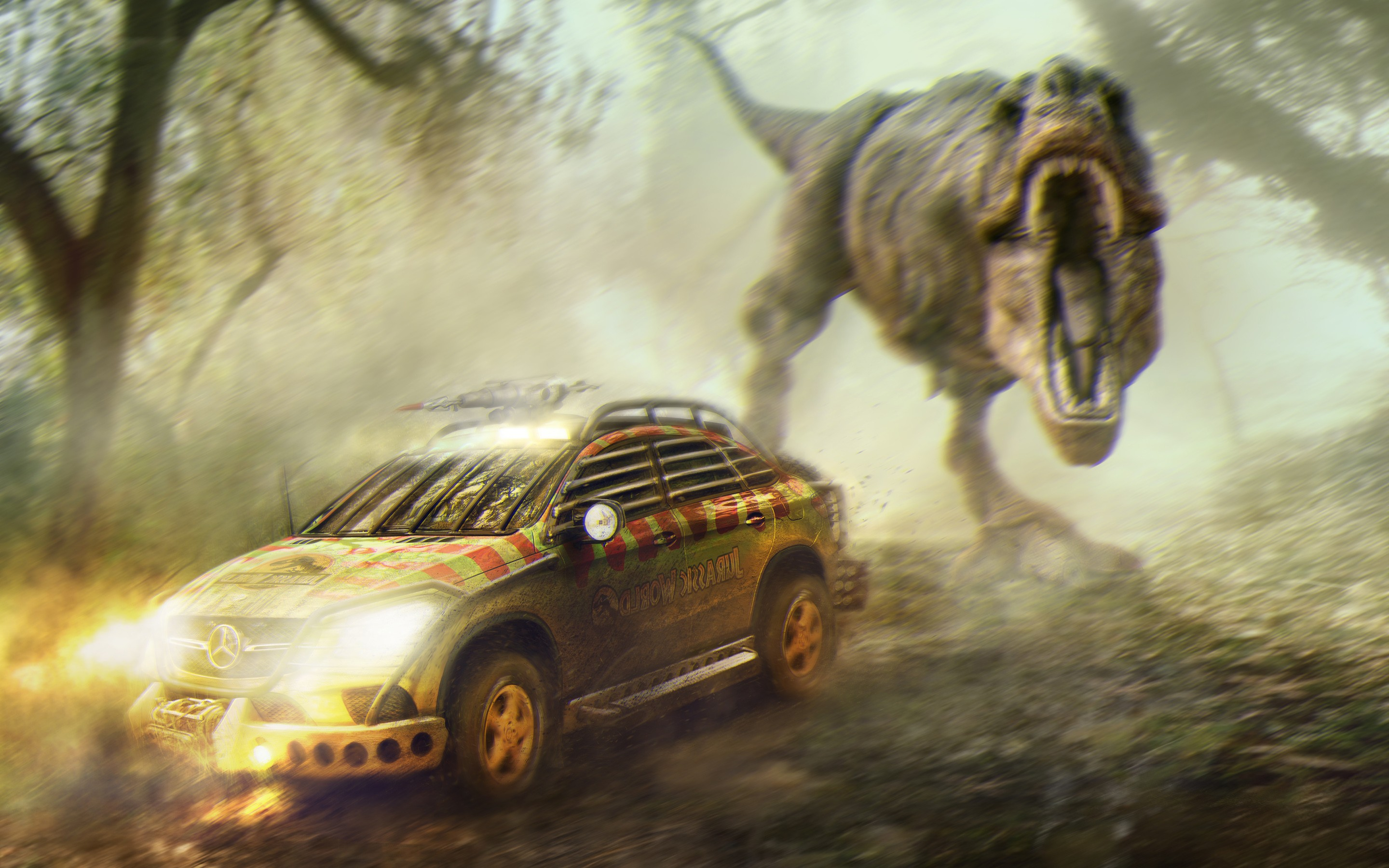 Jurassic World Mercedes Benz
