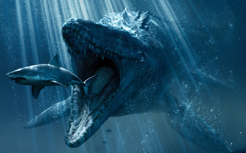 3840x2160 Jurassic World Underwater 4k HD 4k Wallpapers