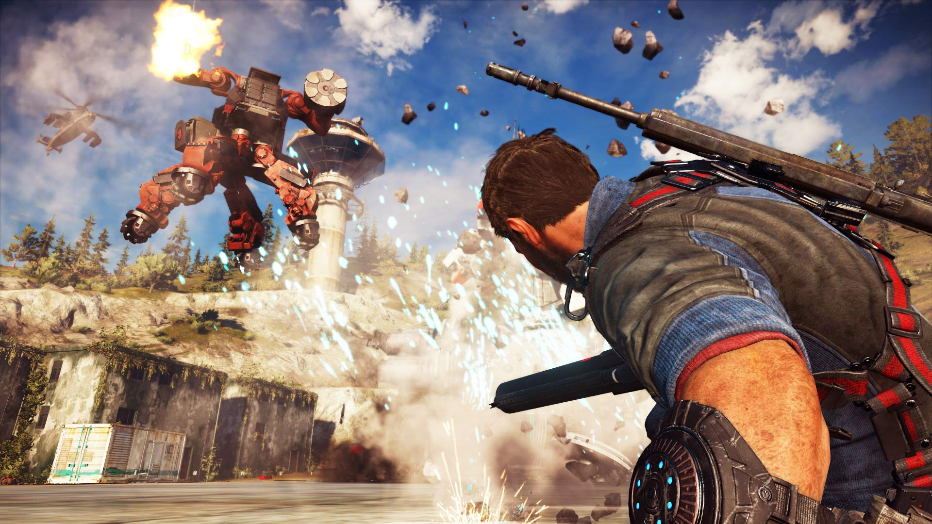 Just Cause 3 Wallpaper: Just Cause 3 1080P, HD Games, 4k Wallpapers, Images