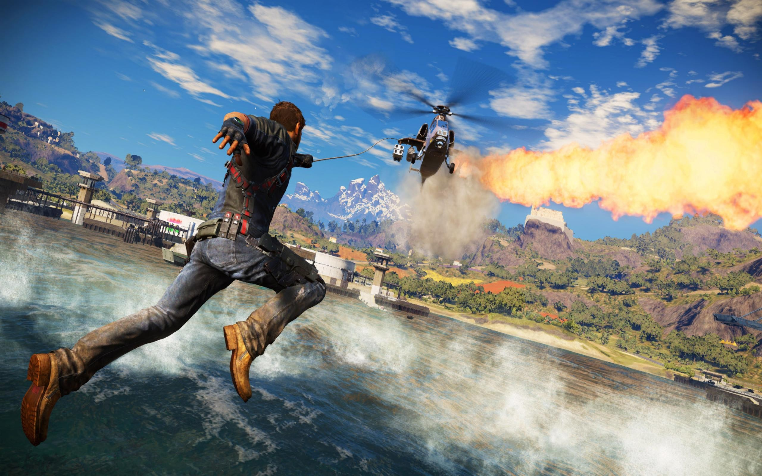 Just Cause 3 Wallpaper: Just Cause 3, HD Games, 4k Wallpapers, Images, Backgrounds
