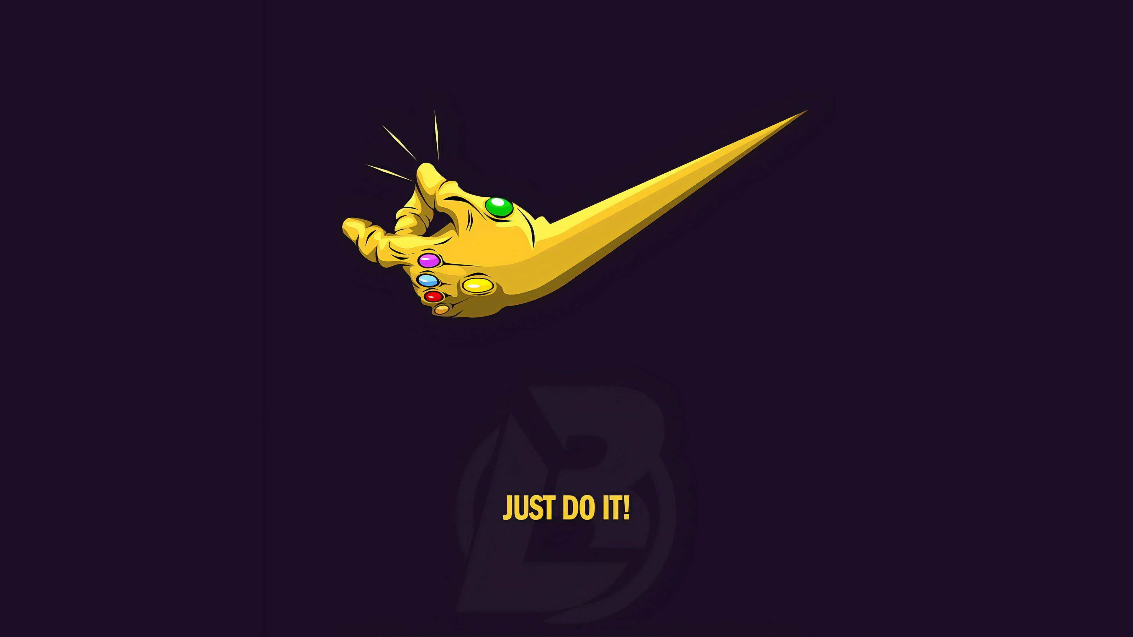 Just Do It Thanos 4k Hd Superheroes 4k Wallpapers Images