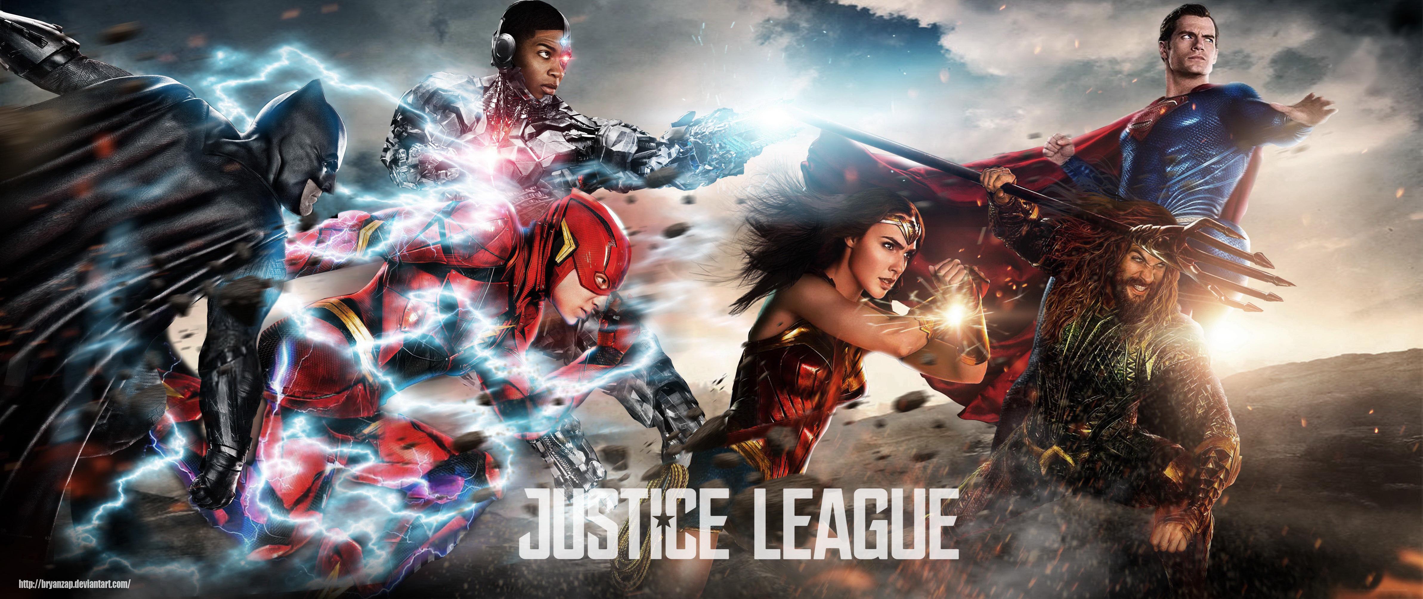 Justice League 2017 Movie 4k Hd Desktop Wallpaper For 4k: Justice League 2017 Fan Art, HD Movies, 4k Wallpapers