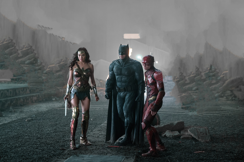 Wallpaper Justice League 2017 Movies Flash Superman: Justice League 2017 Wonder Woman Batman Flash, HD Movies
