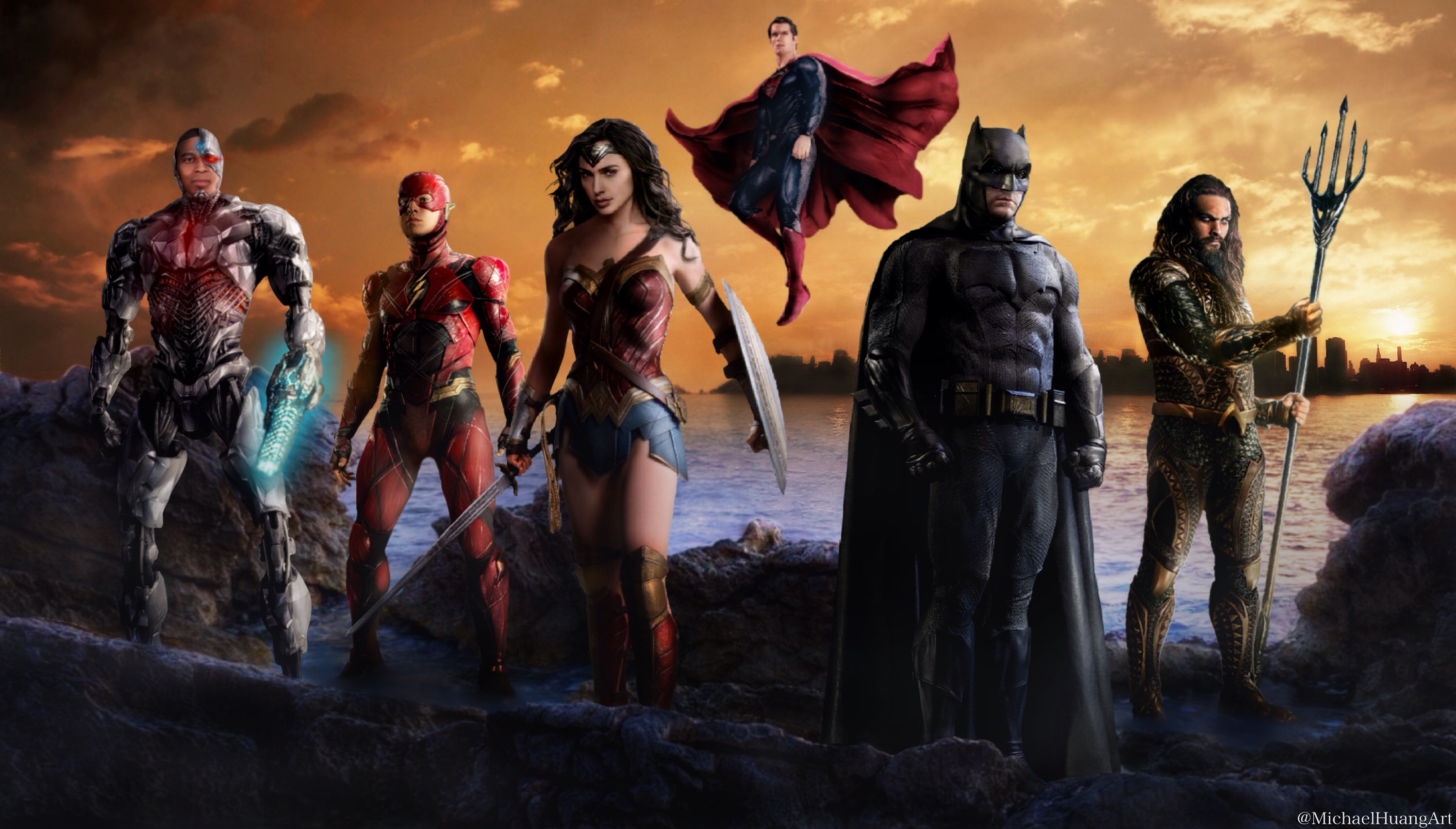 Hd wallpaper justice league - Justice League Artwork Hd