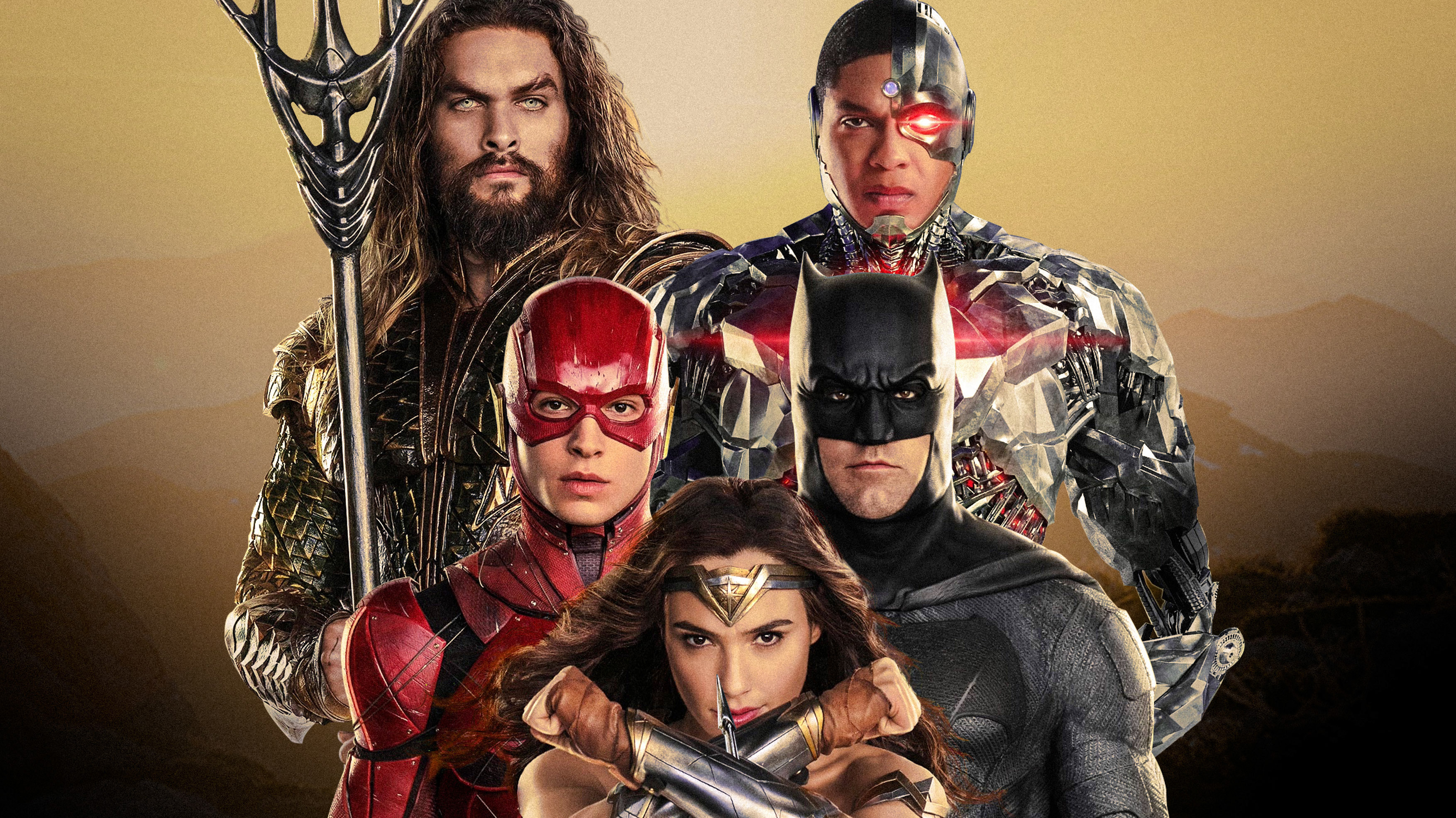 Justice League Characters Poster 4k, HD Superheroes, 4k ...