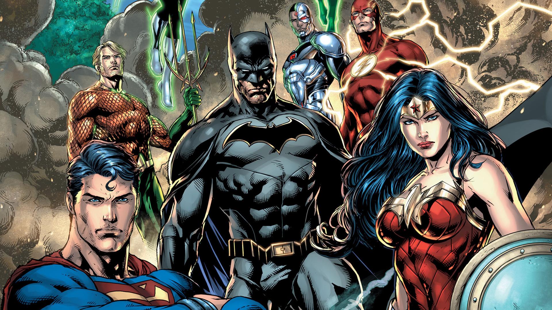 Dc Comics Justice League : Justice league dc comic art resolution