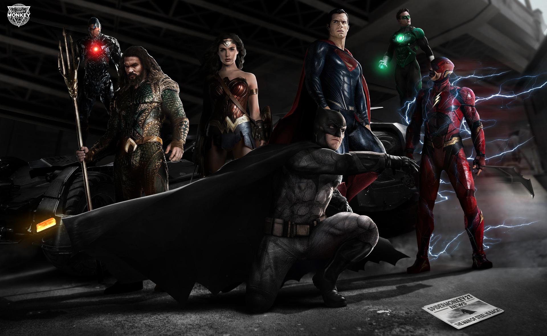 Wonder Woman Justice League 4k Fan Art Hd Movies 4k: Justice League Fan Made Poster, HD Movies, 4k Wallpapers