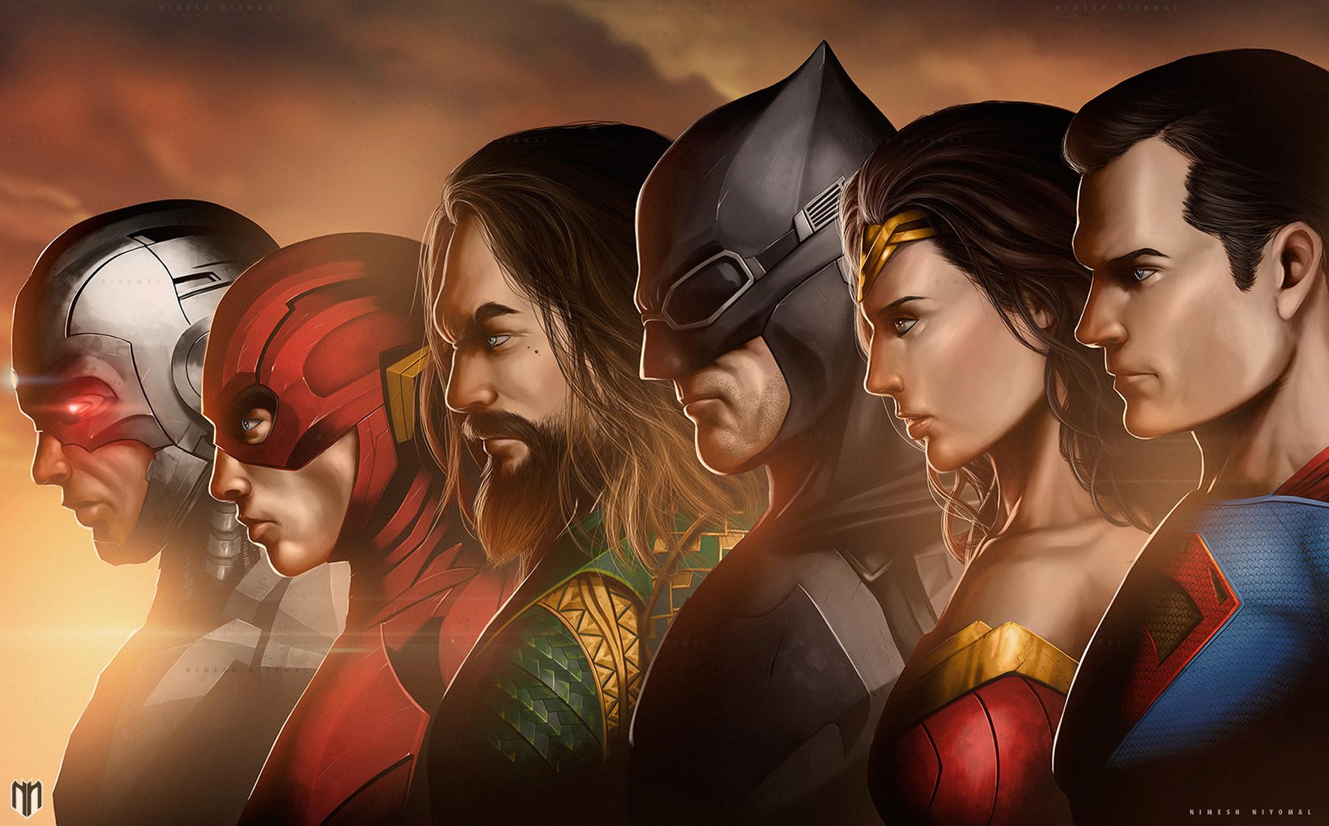 Justice League Movie Artwork