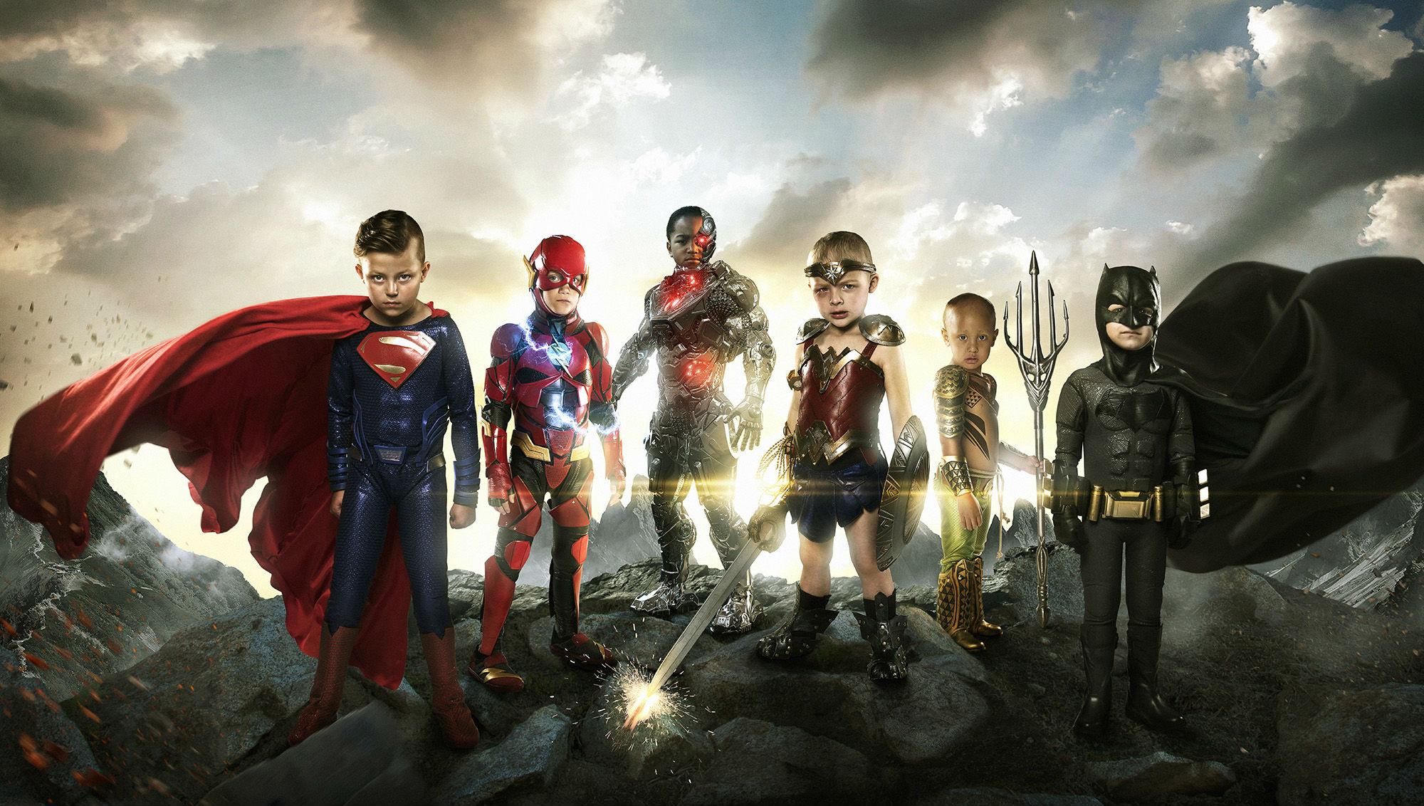 Justice League 2017 Movie 4k Hd Desktop Wallpaper For 4k: Justice League Small Heroes, HD Movies, 4k Wallpapers
