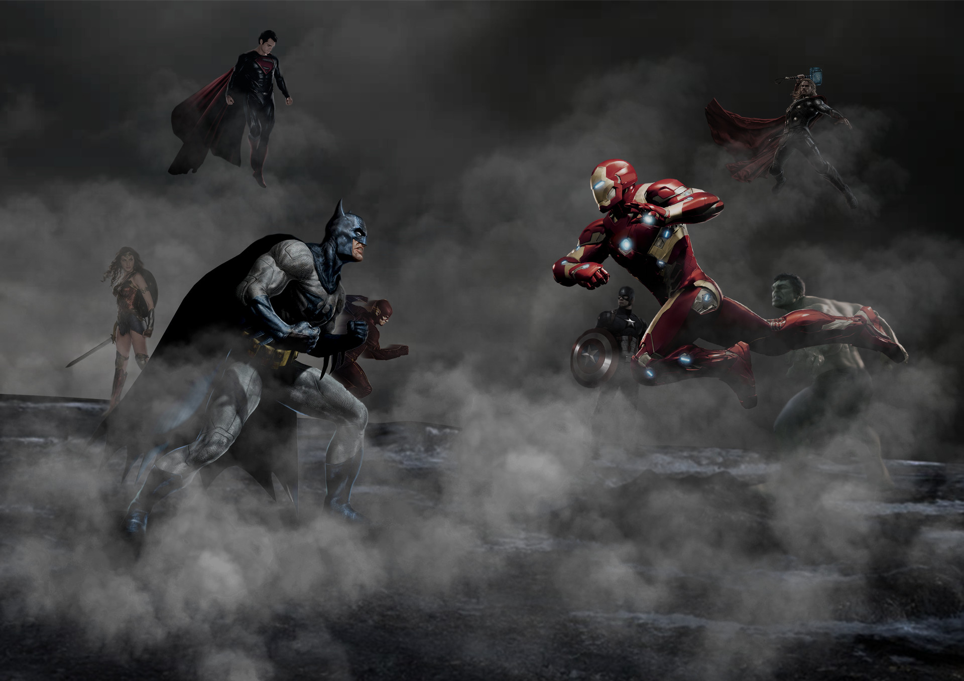 Justice League Vs The Avengers Hd Superheroes 4k Wallpapers