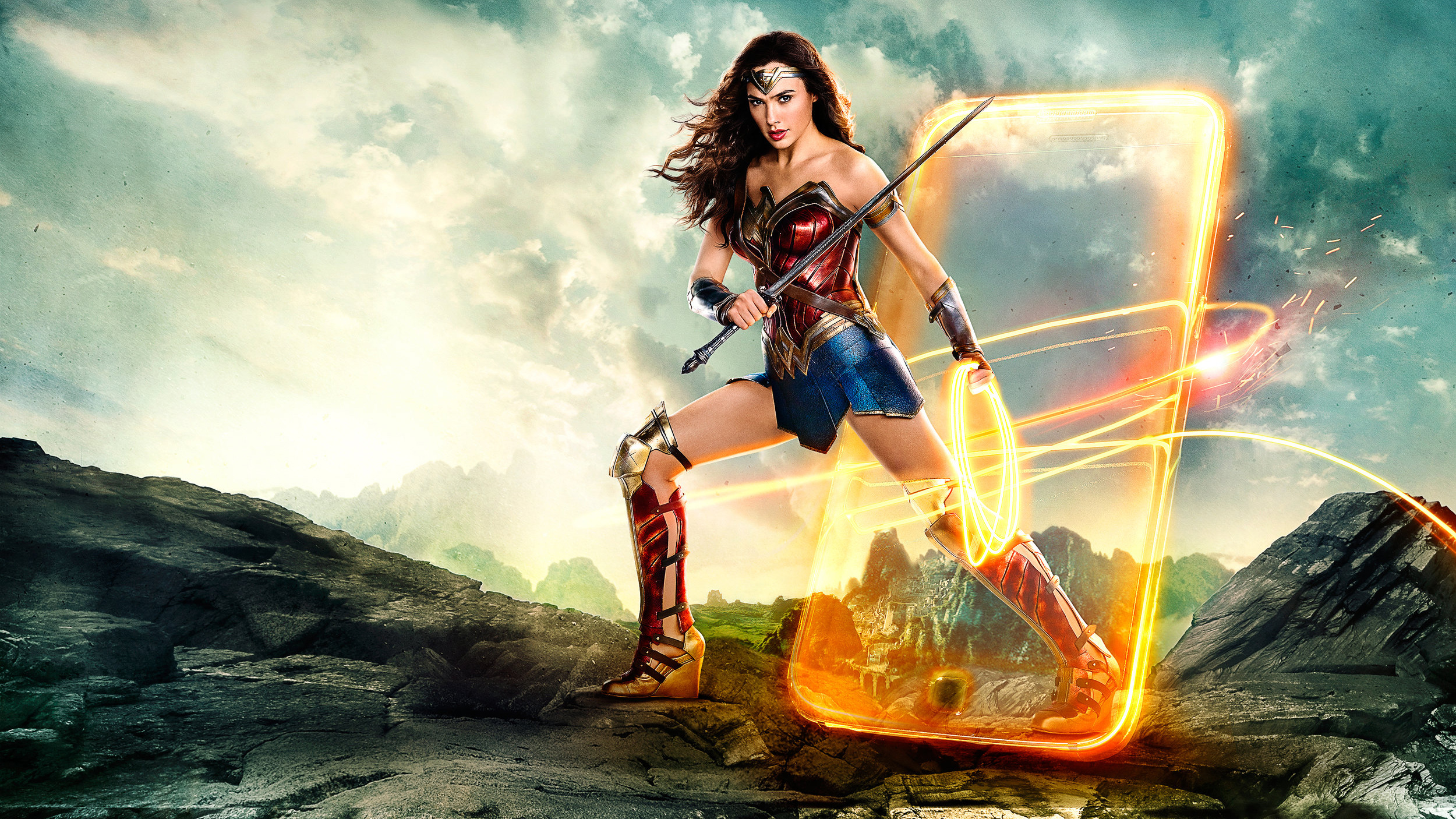 Wallpaper Wonder Woman 2017 Movies 6723: Justice League Wonder Woman 2018, HD Movies, 4k Wallpapers