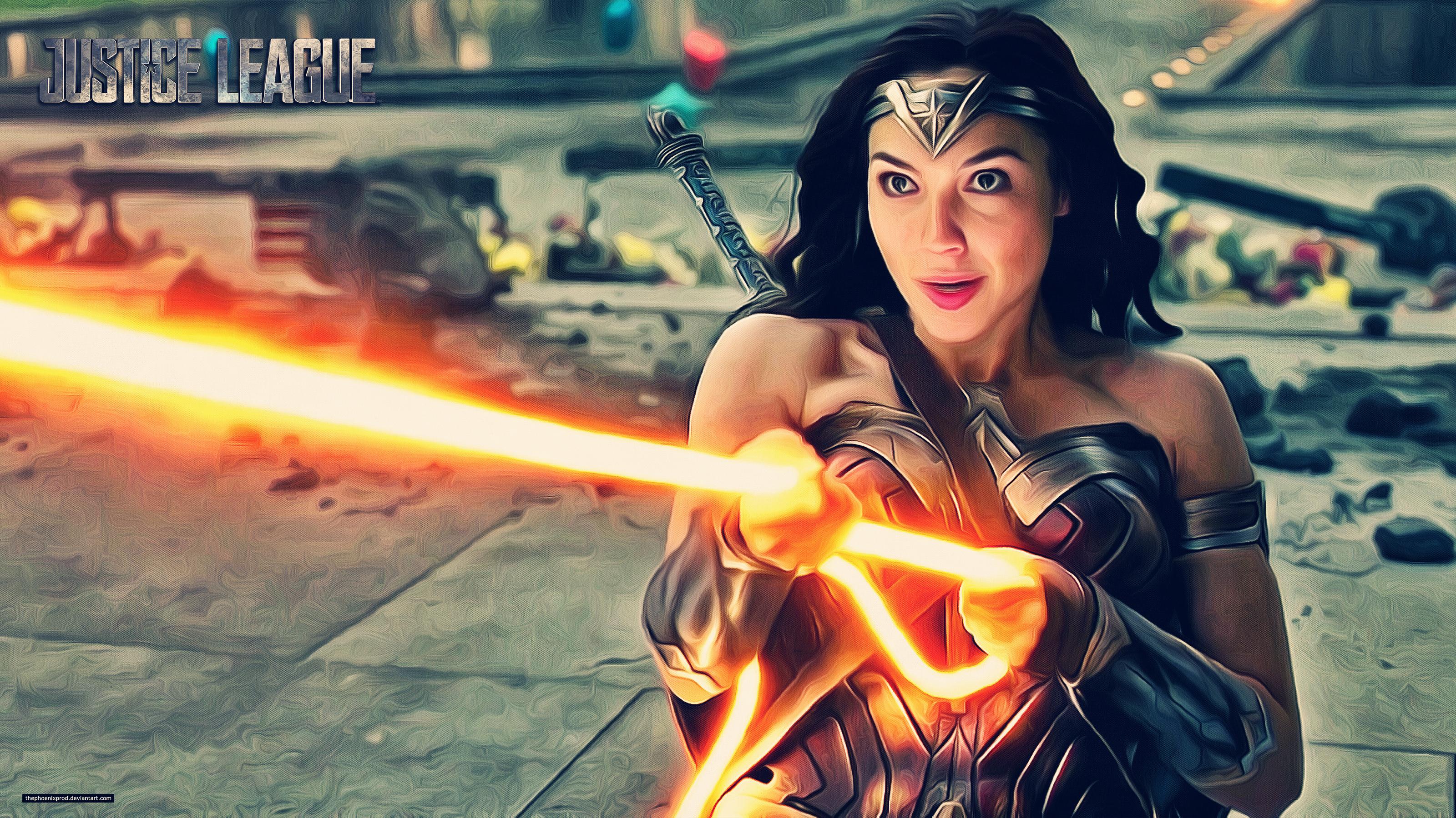 Gal Gadot Wonder Woman New 4k Hd Movies 4k Wallpapers: Justice League Wonder Woman 4k, HD Movies, 4k Wallpapers