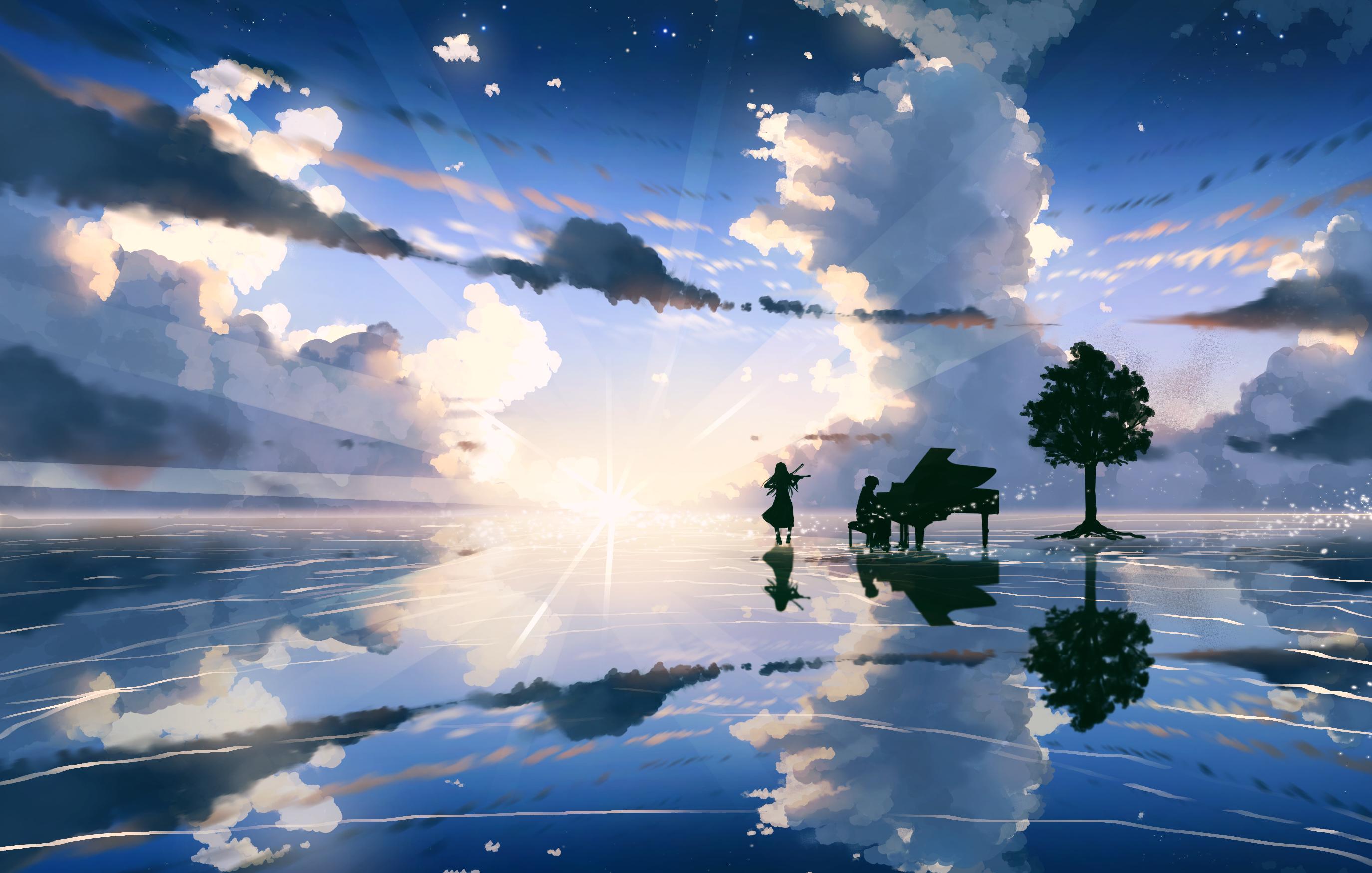 Kaori Miyazono Kousei Arima, HD Anime, 4k Wallpapers ...