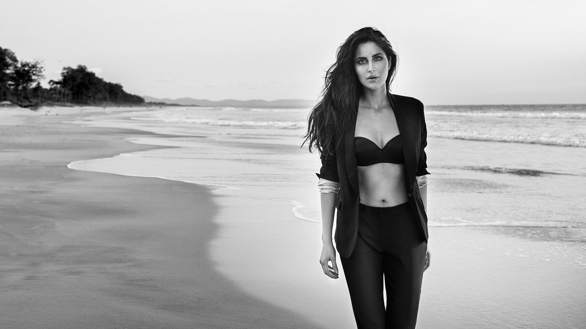 Katrina Kaif Monochrome HD, HD Indian Celebrities, 4k