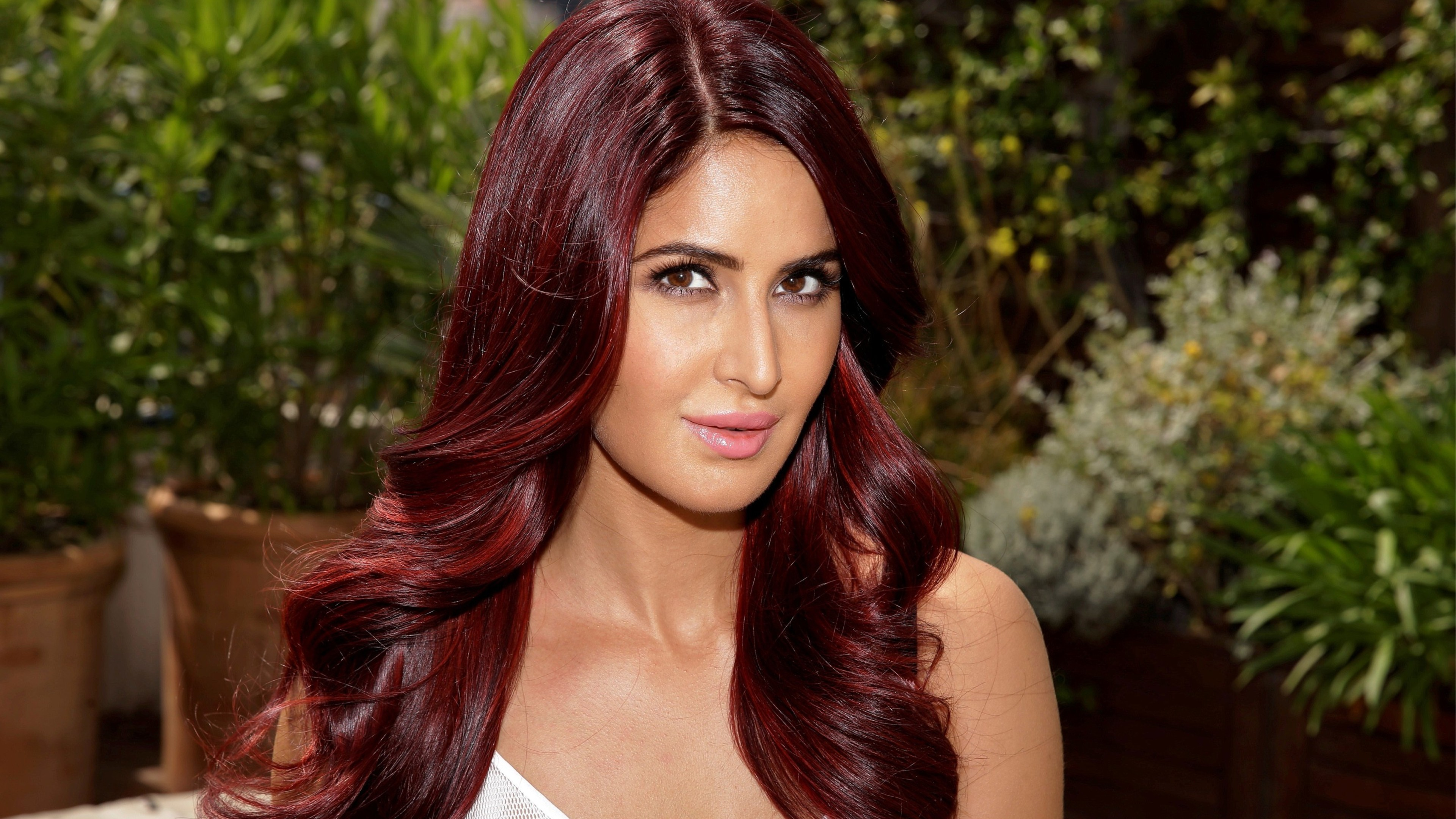 katrina kaif red hairs, hd indian celebrities, 4k wallpapers, images