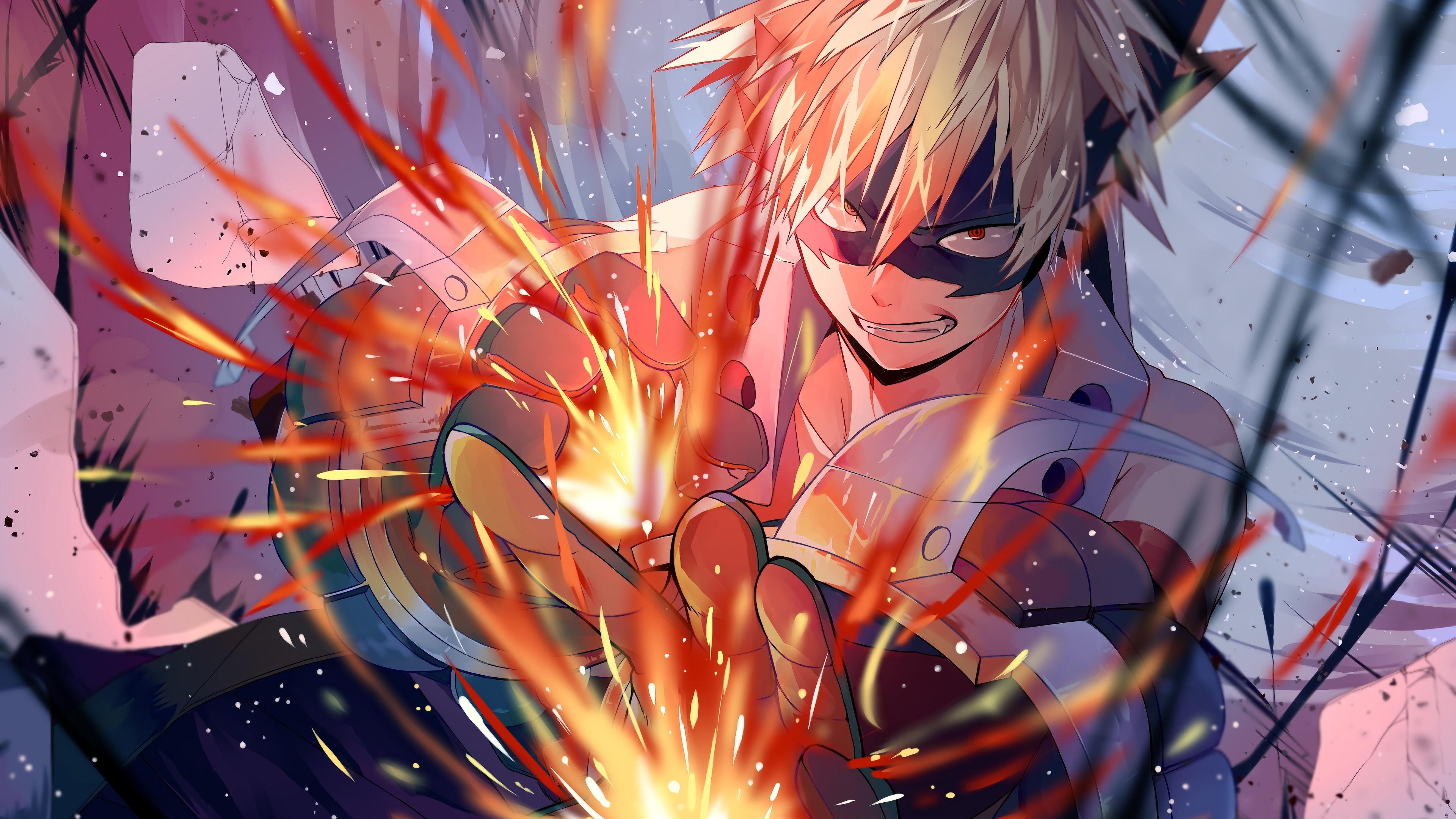 Katsuki Bakugou My Hero Academic 4k, HD Anime, 4k ...