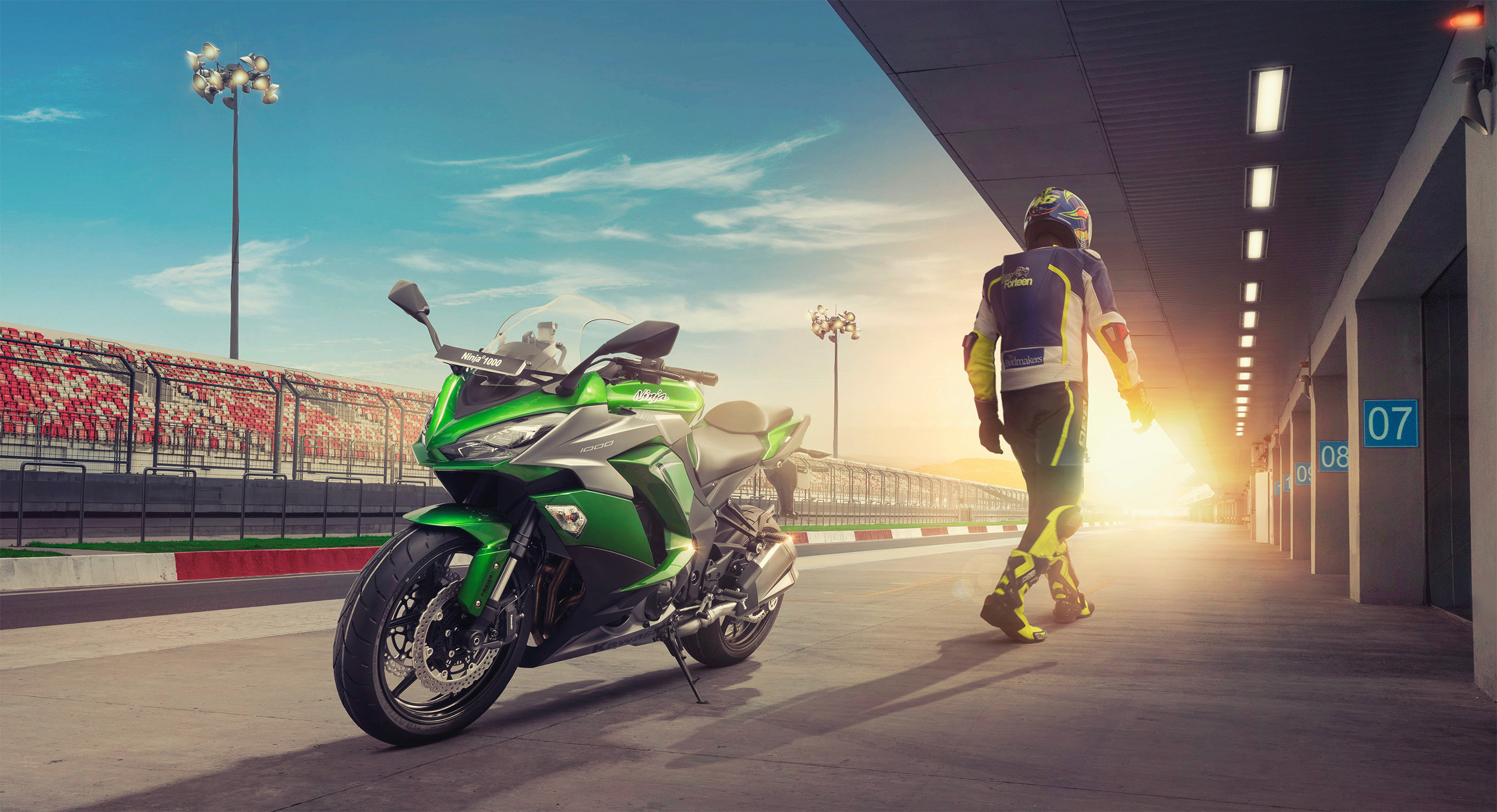 Kawasaki Ninja 1000, HD Bikes, 4k Wallpapers, Images