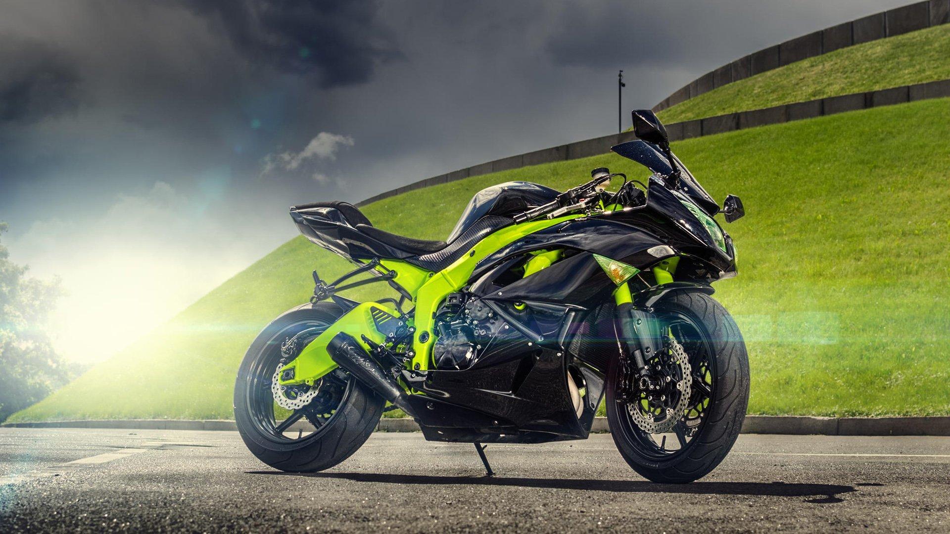 Kawasaki Ninja ZX6R, HD Bikes, 4k Wallpapers, Images