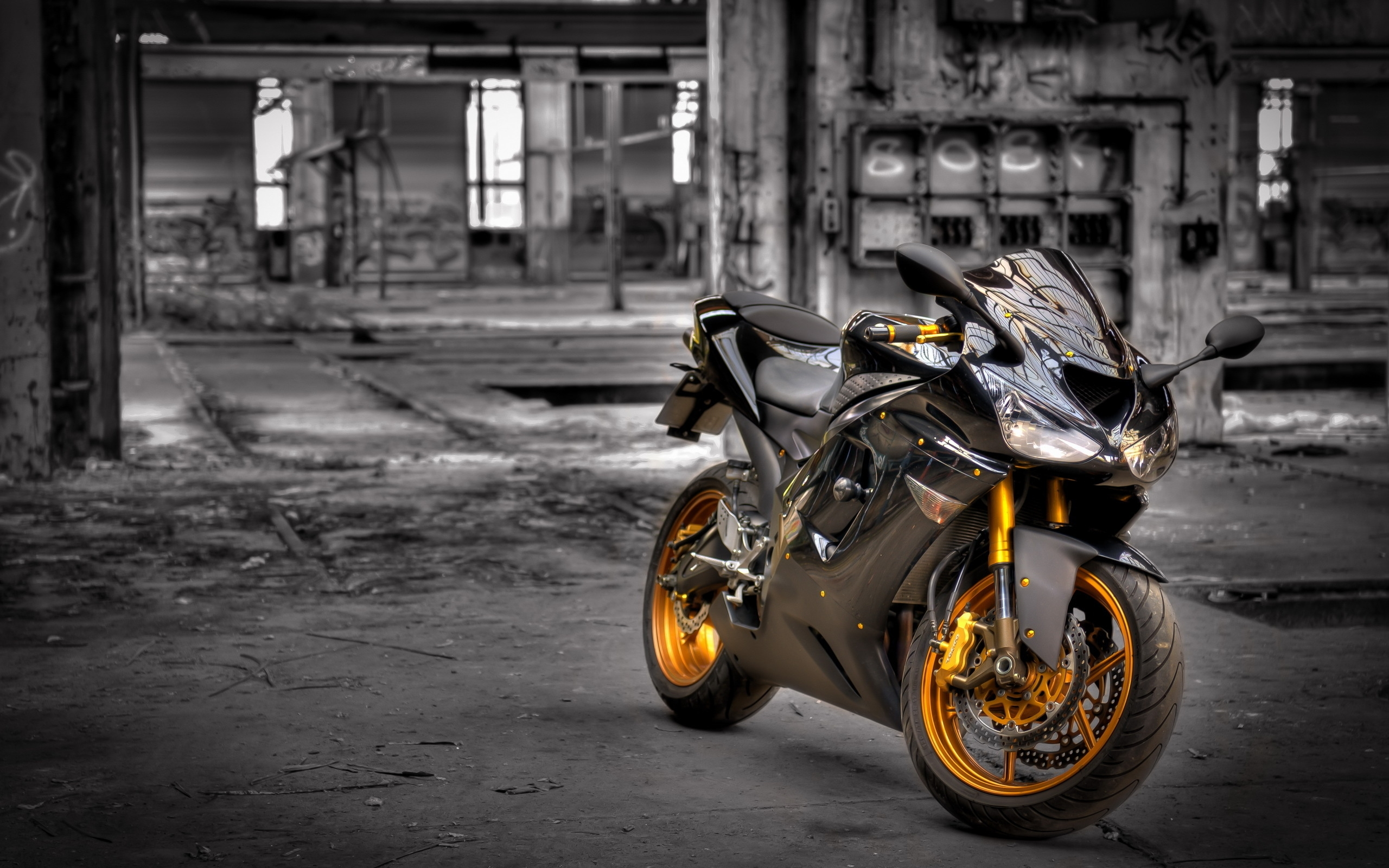Kawasaki Zx6R HD Bikes 4k Wallpapers Images Backgrounds