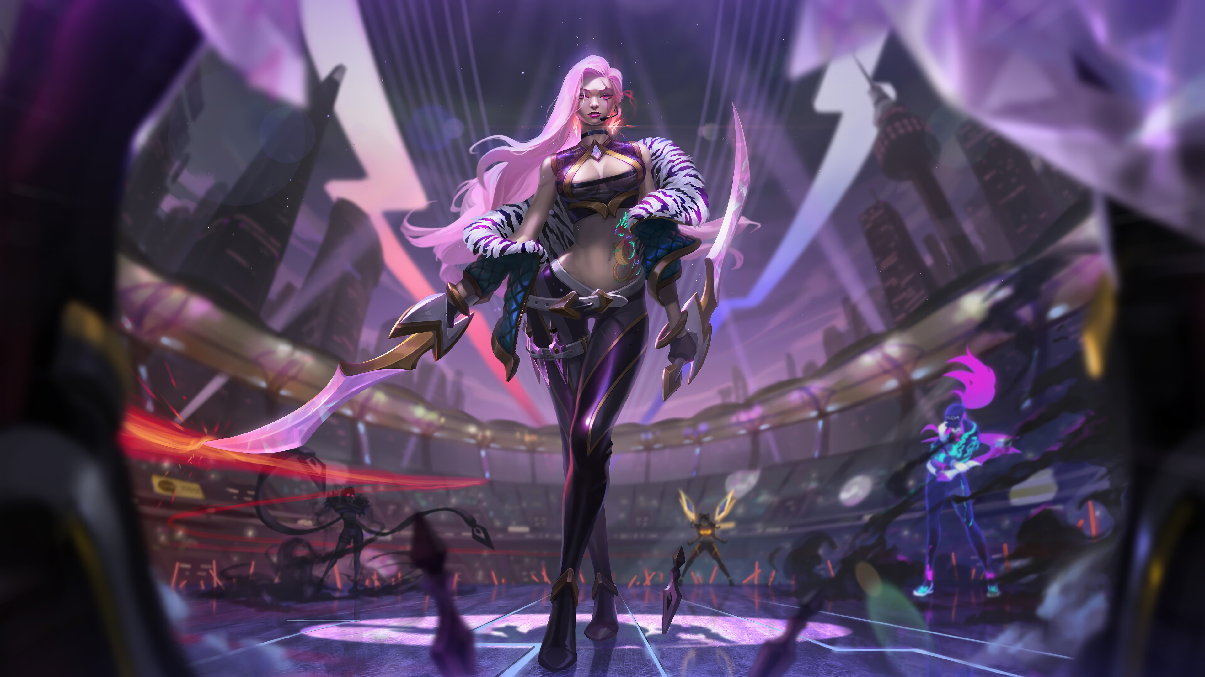 Kda Katarina League Of Legends 4k Hd Games 4k Wallpapers