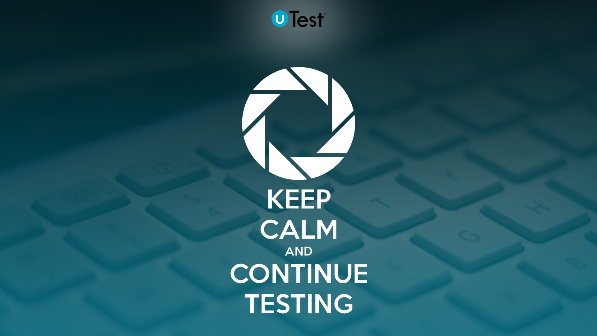 Keep Calm And Continue Testing 1600x900 Resolution