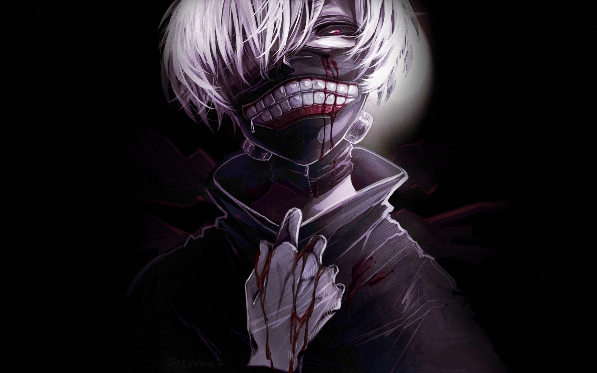 Ken kaneki tokyo ghoul hd anime 4k wallpapers images - Tokyo anime wallpaper ...