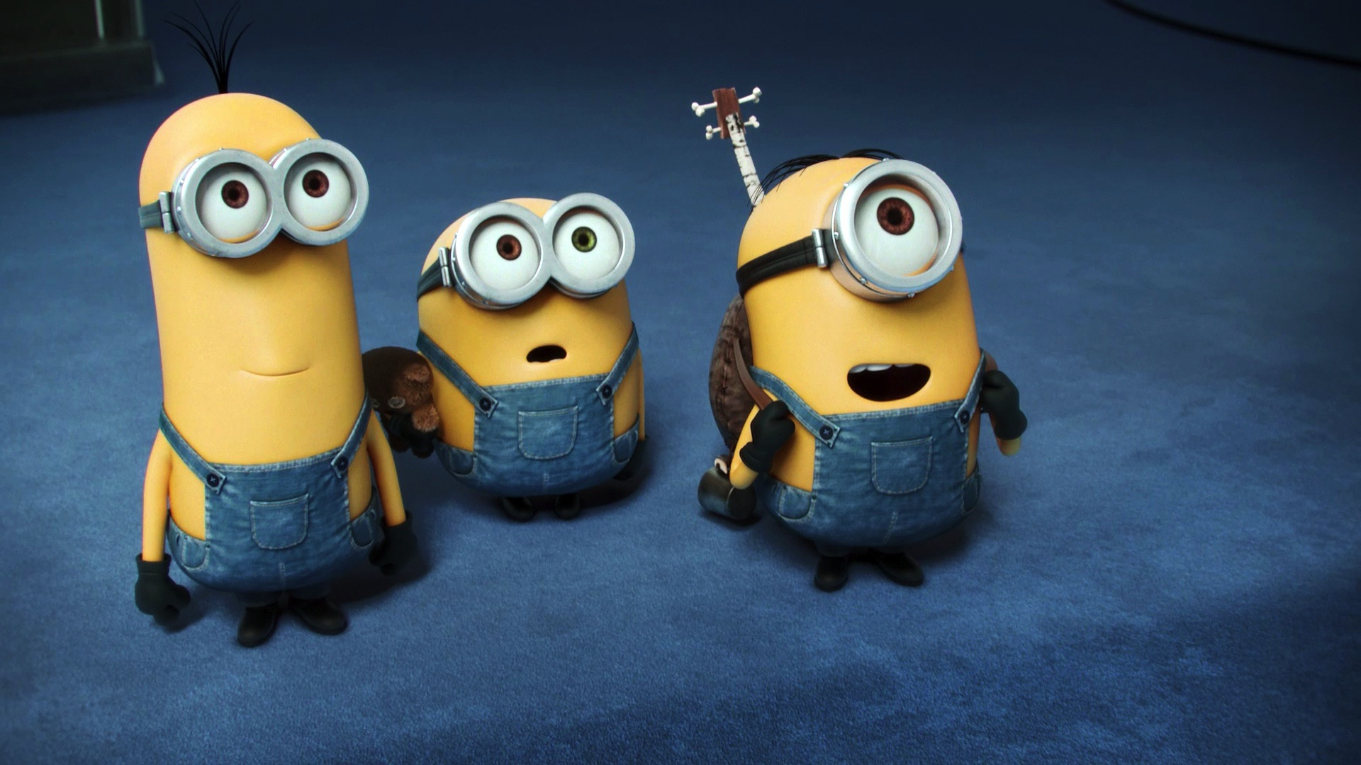 kevin bob minions, hd cartoons, 4k wallpapers, images, backgrounds