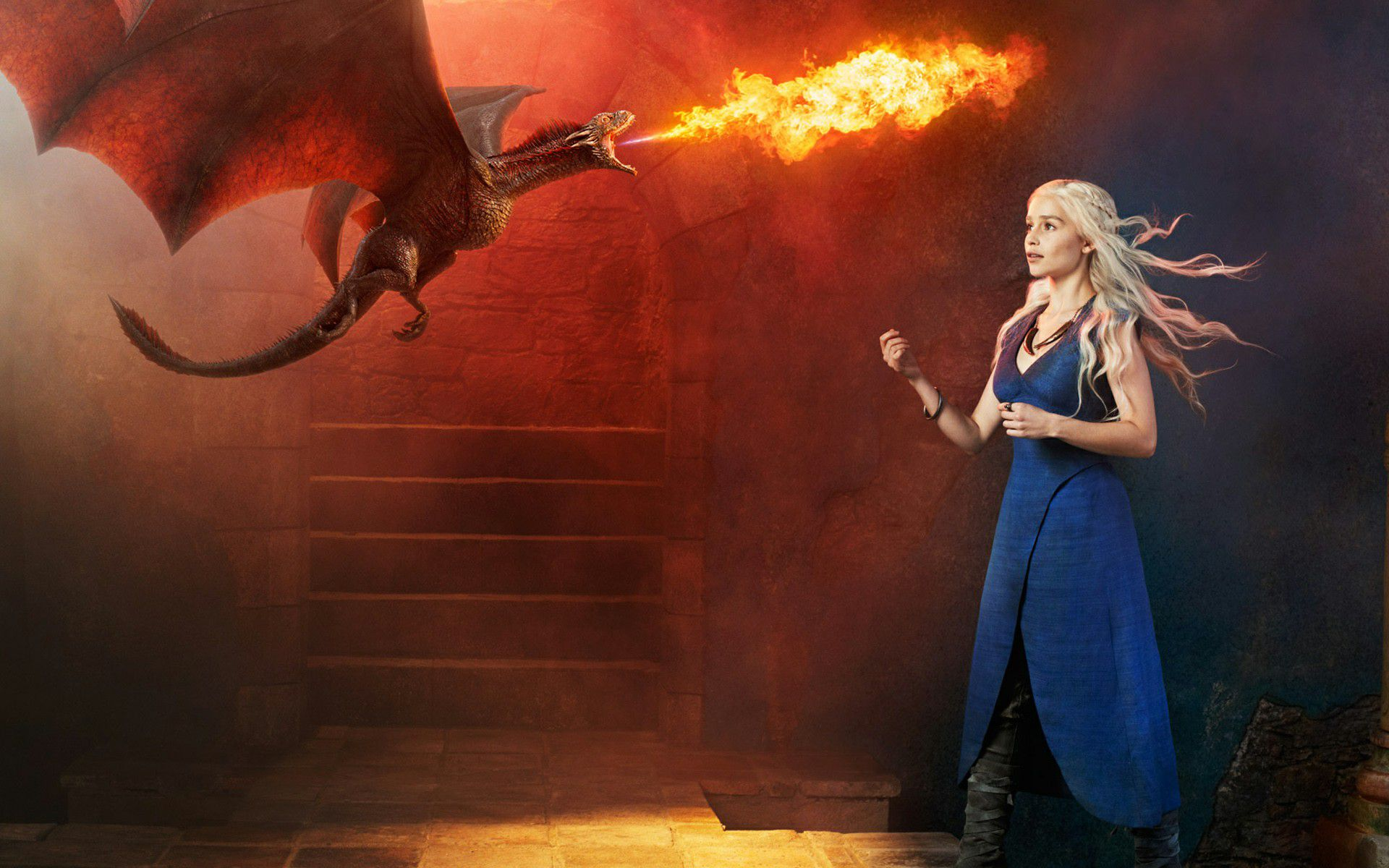 Khaleesi With Dragons Img 522 Game Of Thrones Wallpapers
