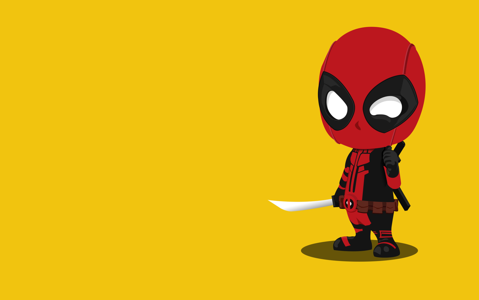 Kid Deadpool Minimalism