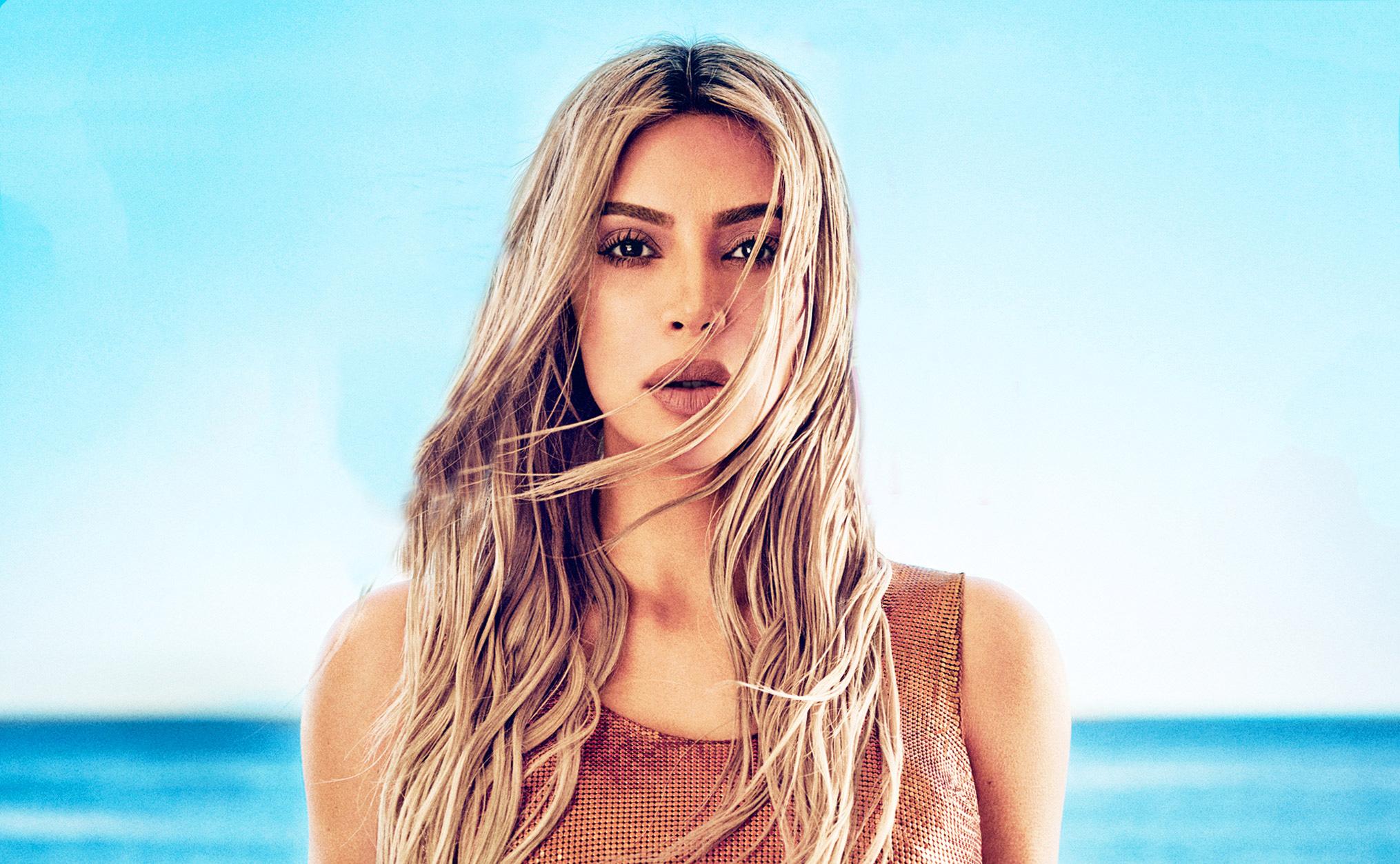 1920x1200 Kim Kardashian Elle 2018 Photoshoot 1080p