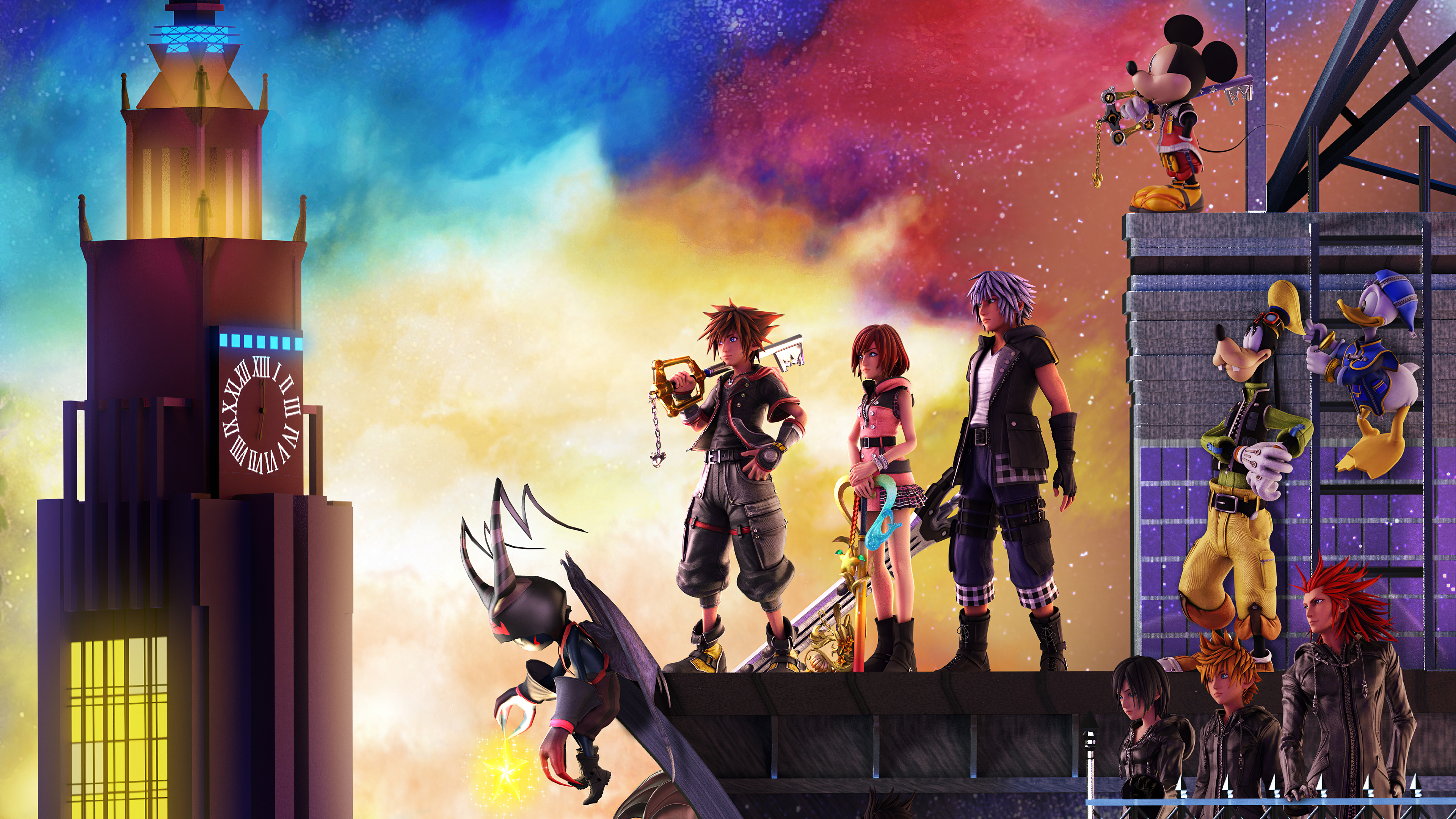 Kingdom Hearts x Resident Evil 2 Crossover by UltimaZeroah