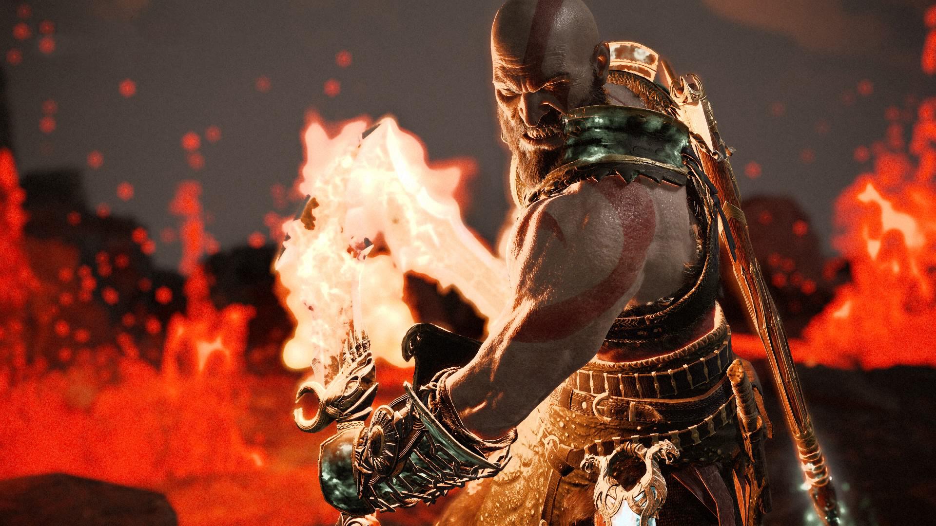 Kratos God Of War 4 Game Hd Games 4k Wallpapers Images