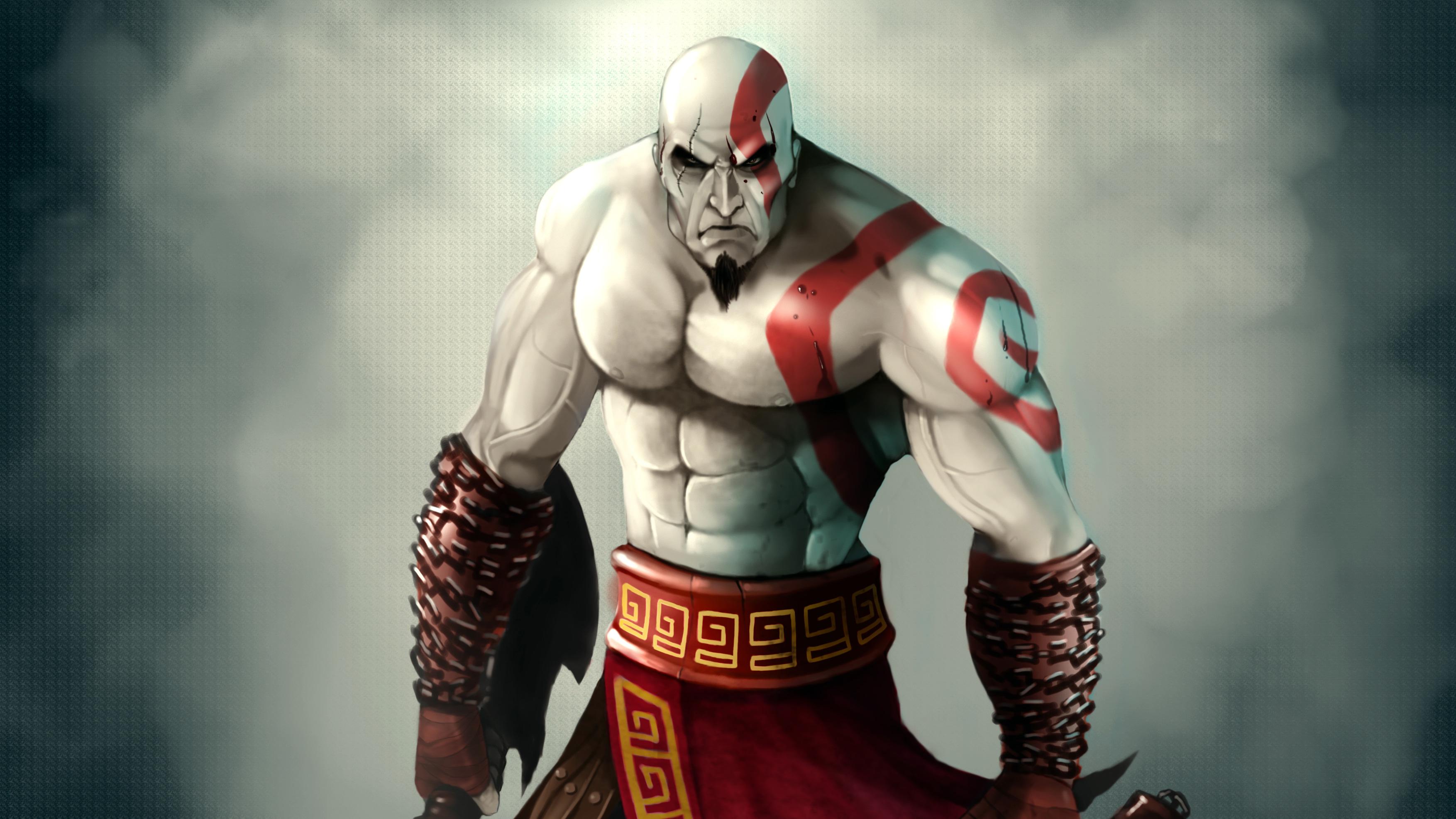 Kratos God Of War 4k Art Hd Games 4k Wallpapers Images