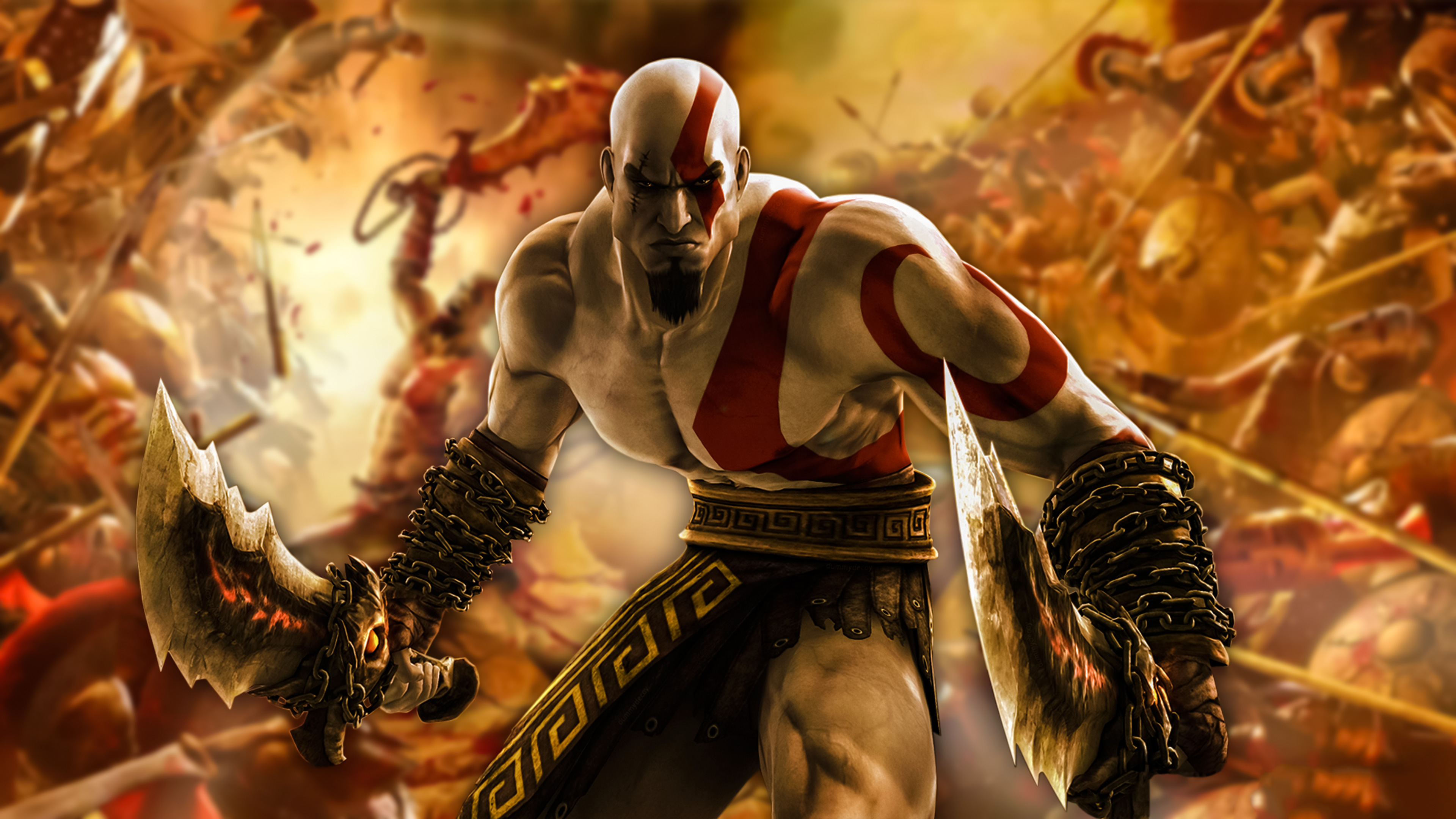 Kratos god of war 4k game hd games 4k wallpapers images backgrounds photos and pictures - God of war wallpaper hd 3d ...