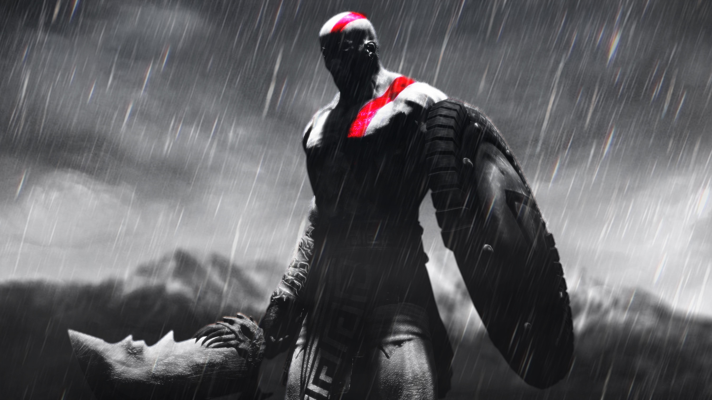 3840x2160 kratos god of war artwork 5k 4k hd 4k wallpapers images backgrounds photos and pictures - Wallpaper kratos ...