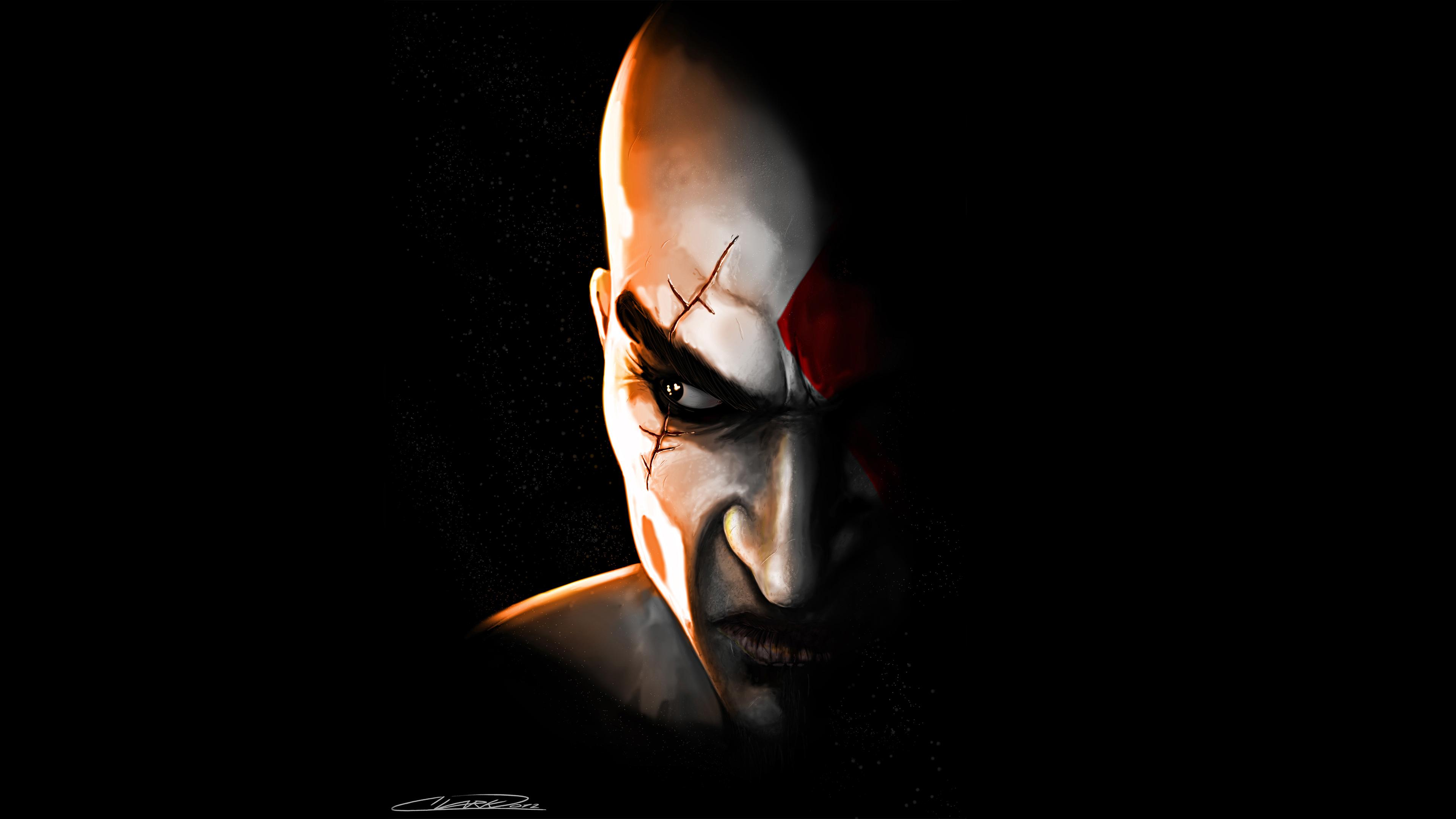 3840x2160 Kratos In God Of War Game 4k Hd 4k Wallpapers