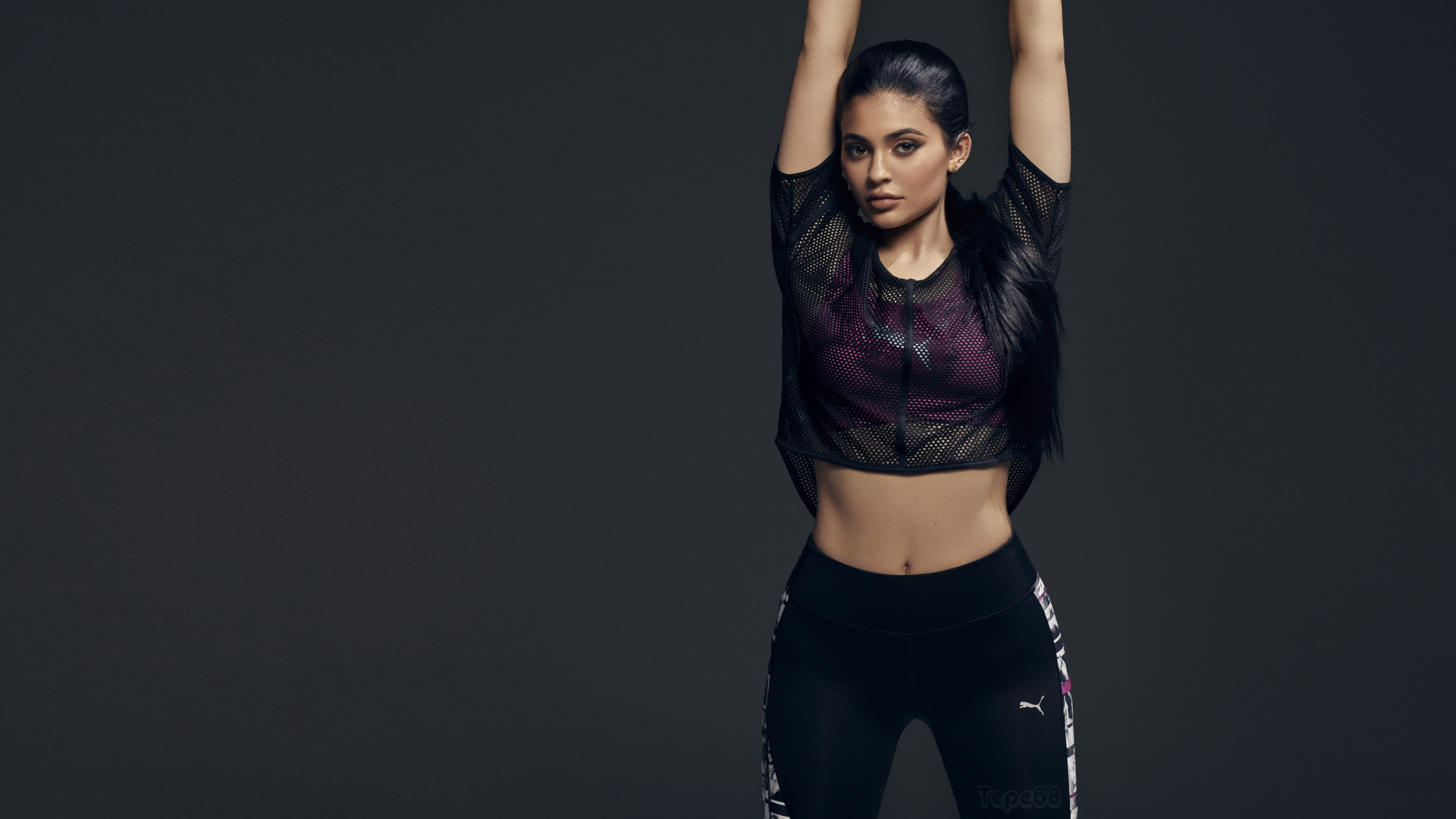 kylie jenner puma 2017, hd celebrities, 4k wallpapers, images