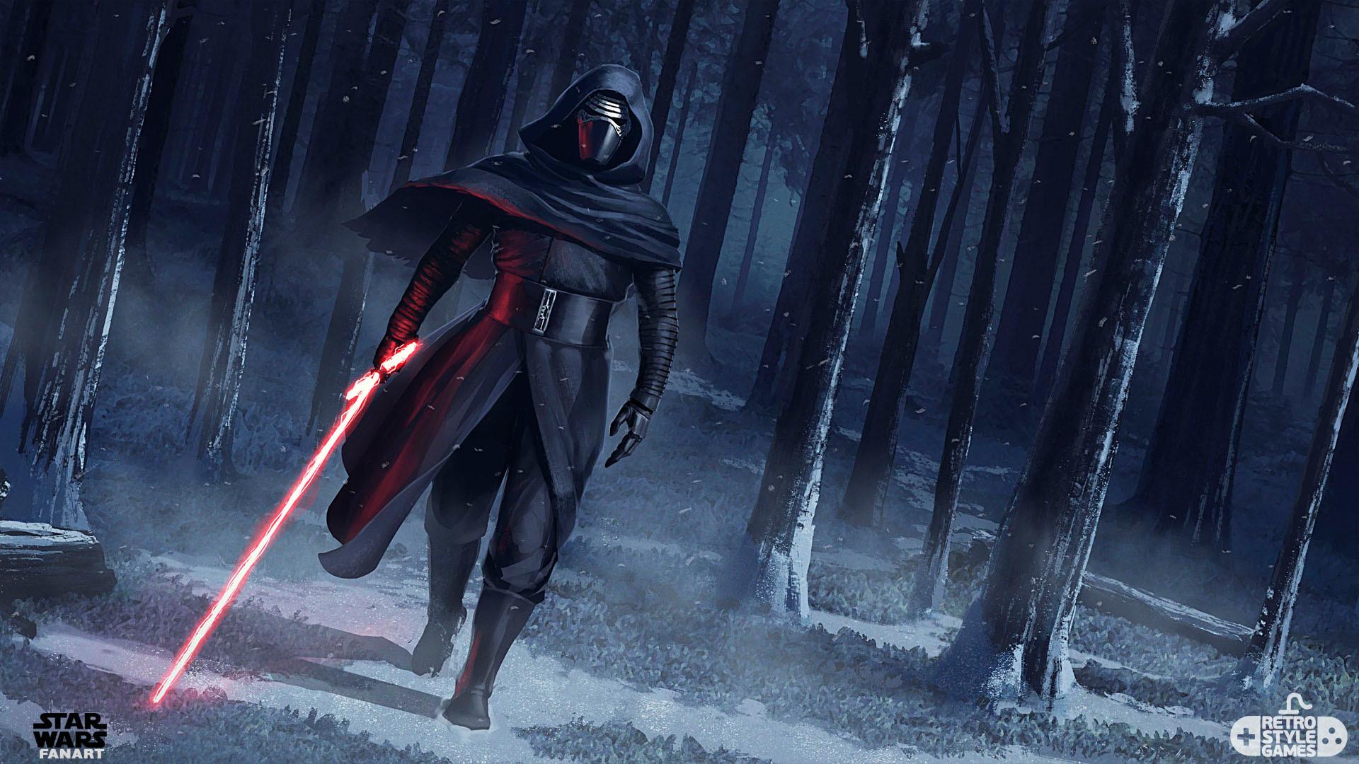 Kylo Ren Force Awakens Fan Art Hd Movies 4k Wallpapers