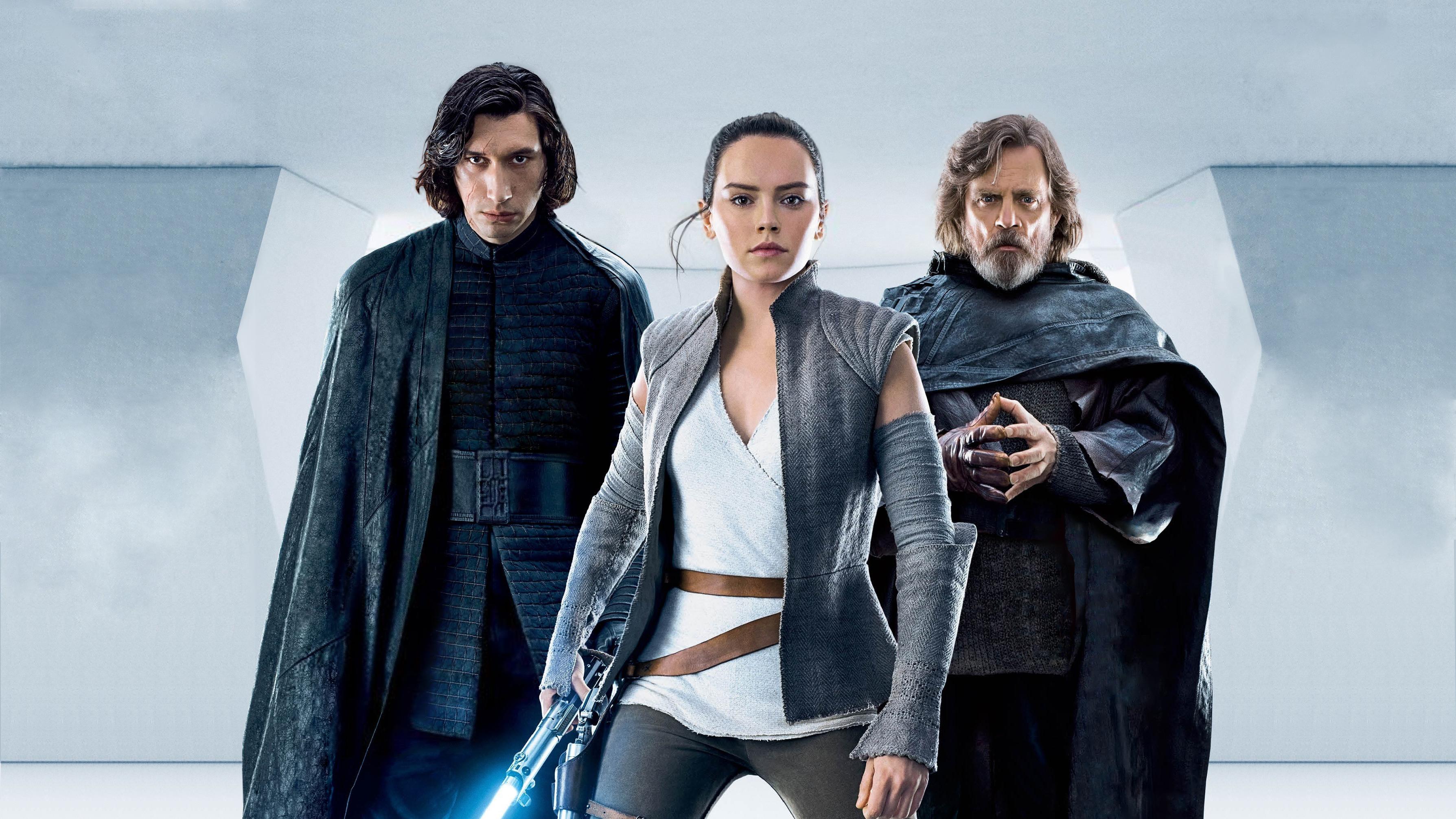Most Inspiring Wallpaper Movie Rey - kylo-ren-rey-luke-skywalker-in-star-wars-the-last-jedi-8d  You Should Have_902498.jpg