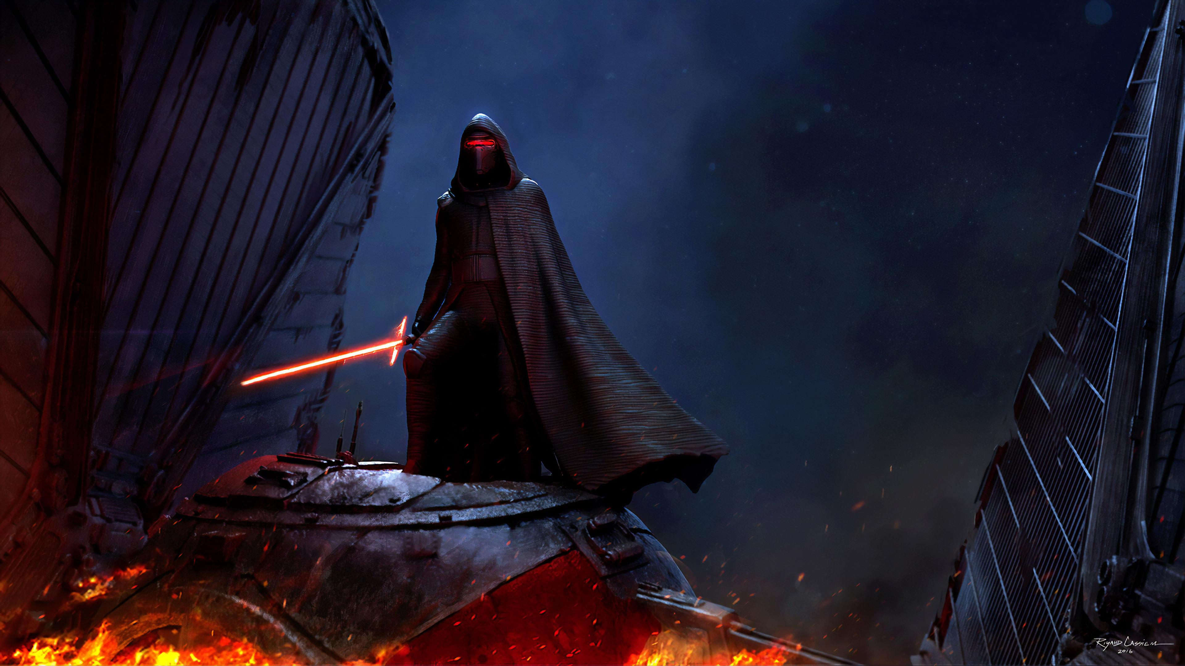 Kylo Ren Star Wars 4k Hd Superheroes 4k Wallpapers Images