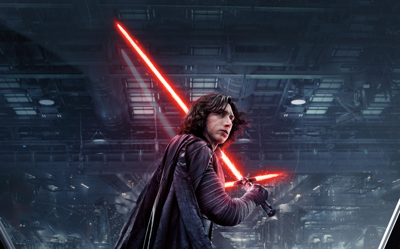Star Wars The Last Jedi Desktop Wallpaper: Kylo Ren Star Wars The Last Jedi 5k, HD Movies, 4k
