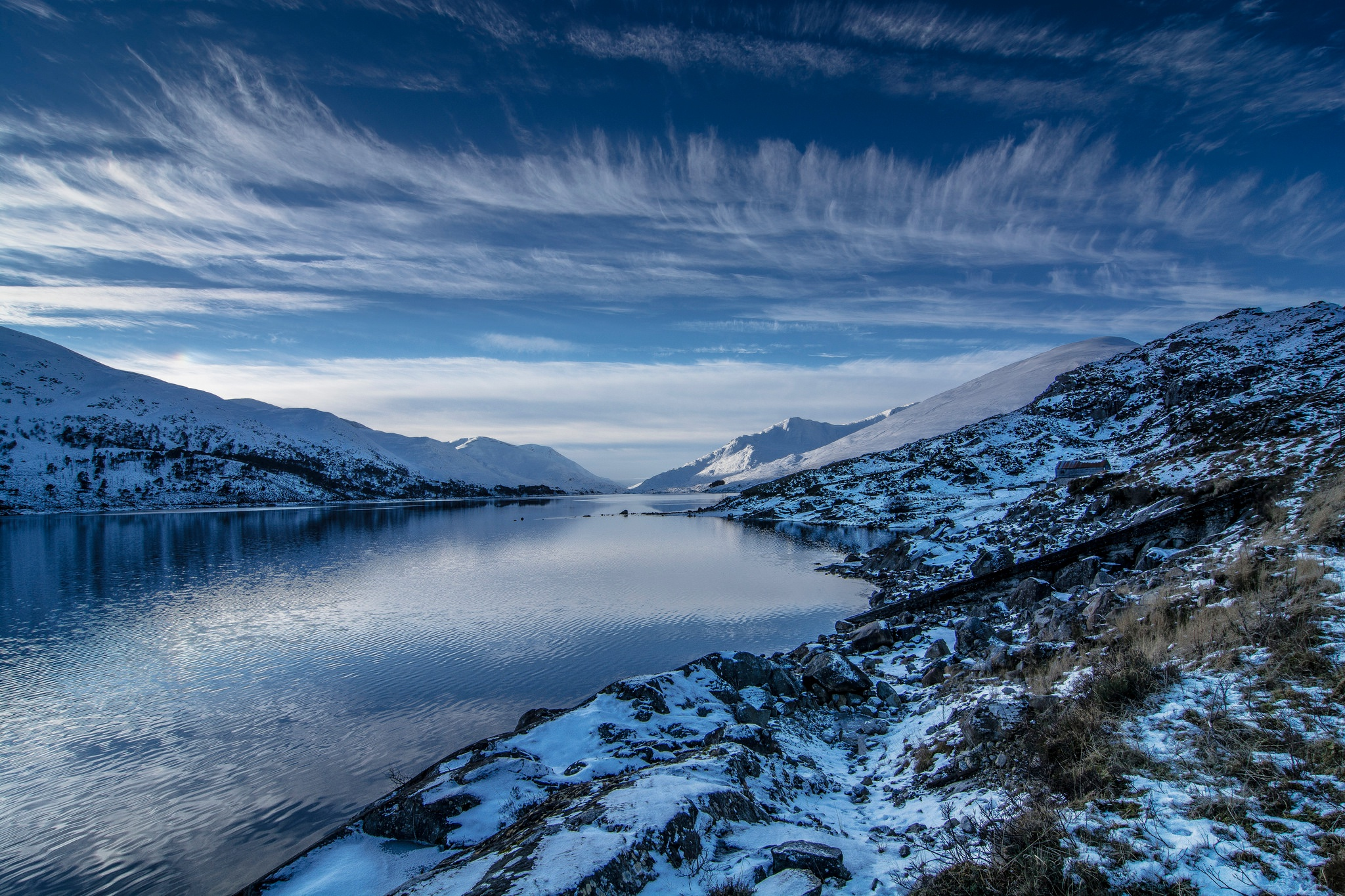 4k Nature Wallpaper Winter France: Lake Nature Winter, HD Nature, 4k Wallpapers, Images
