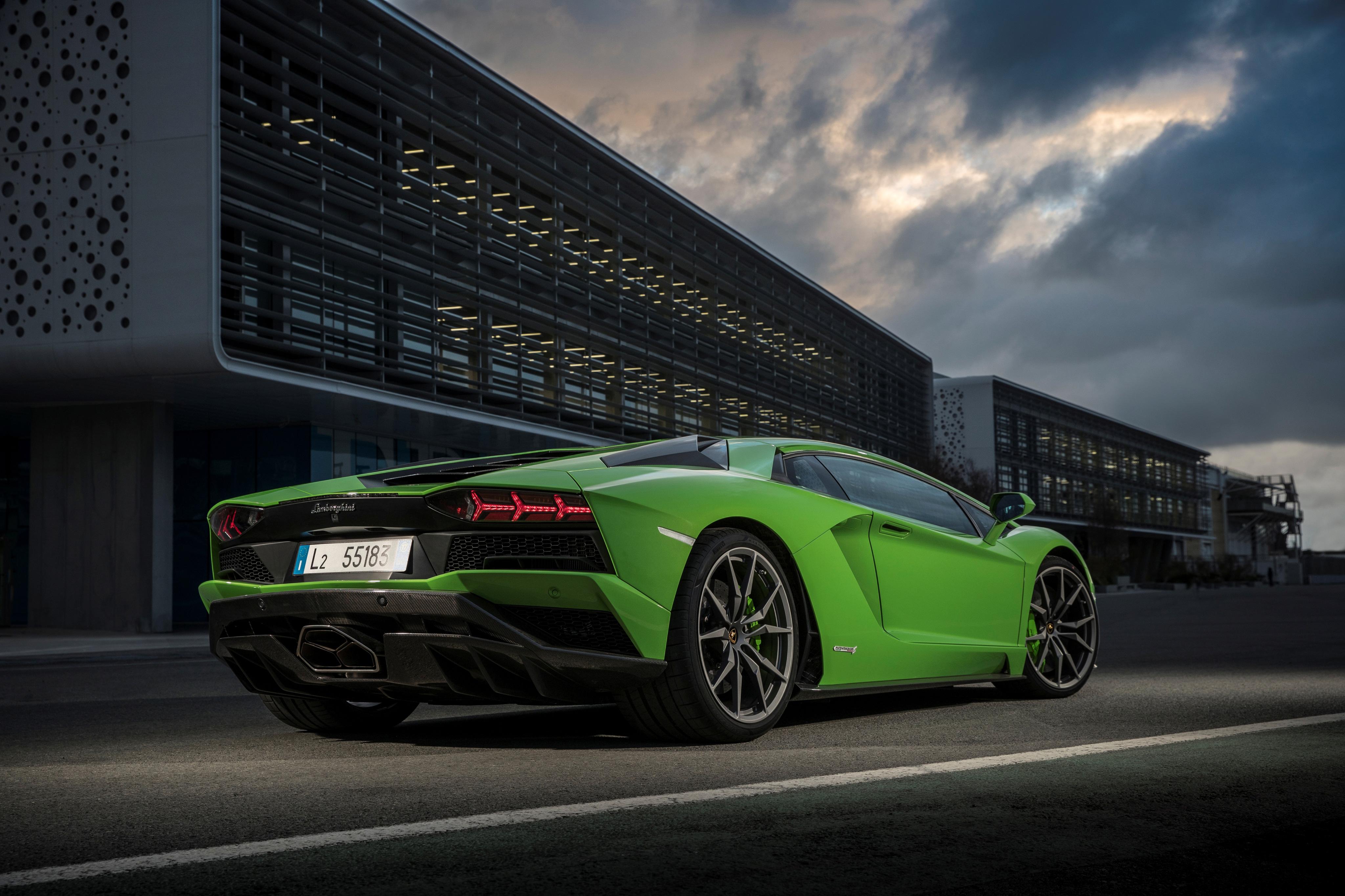 Lamborghini Aventador S 2018, HD Cars, 4k Wallpapers ...