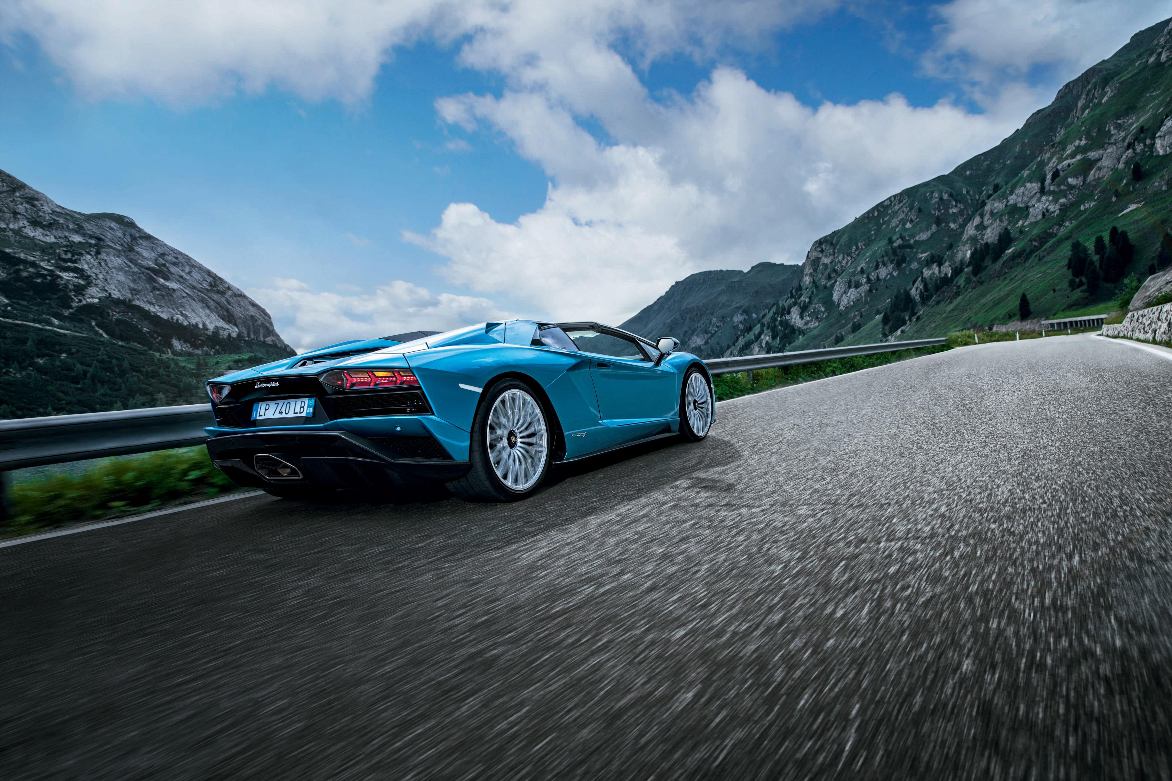 Lamborghini Aventador S Roadster 2017 4k, HD Cars, 4k