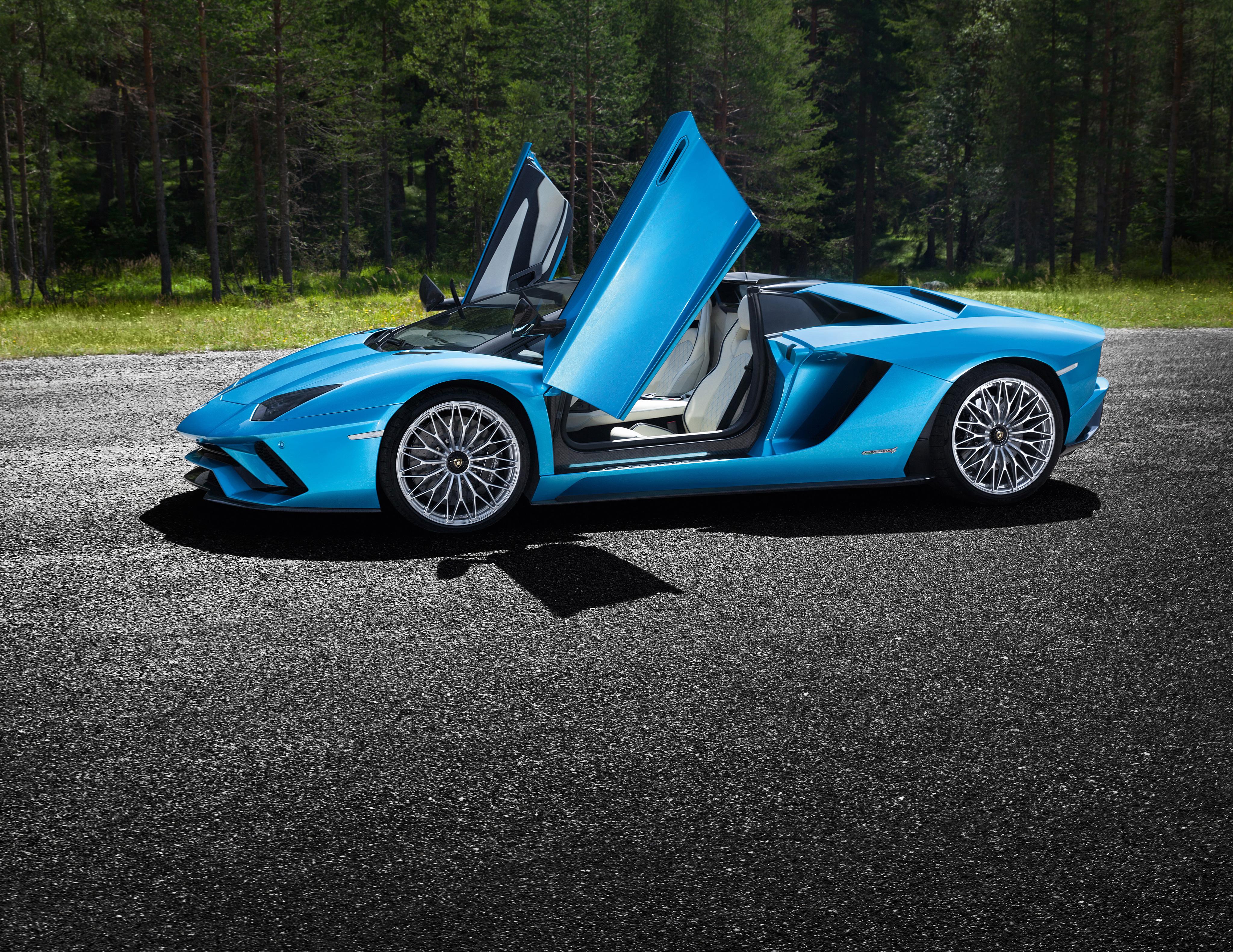 Lamborghini Aventador Green 4k Hd Cars 4k Wallpapers: Lamborghini Aventador S Windows Open 4k, HD Cars, 4k